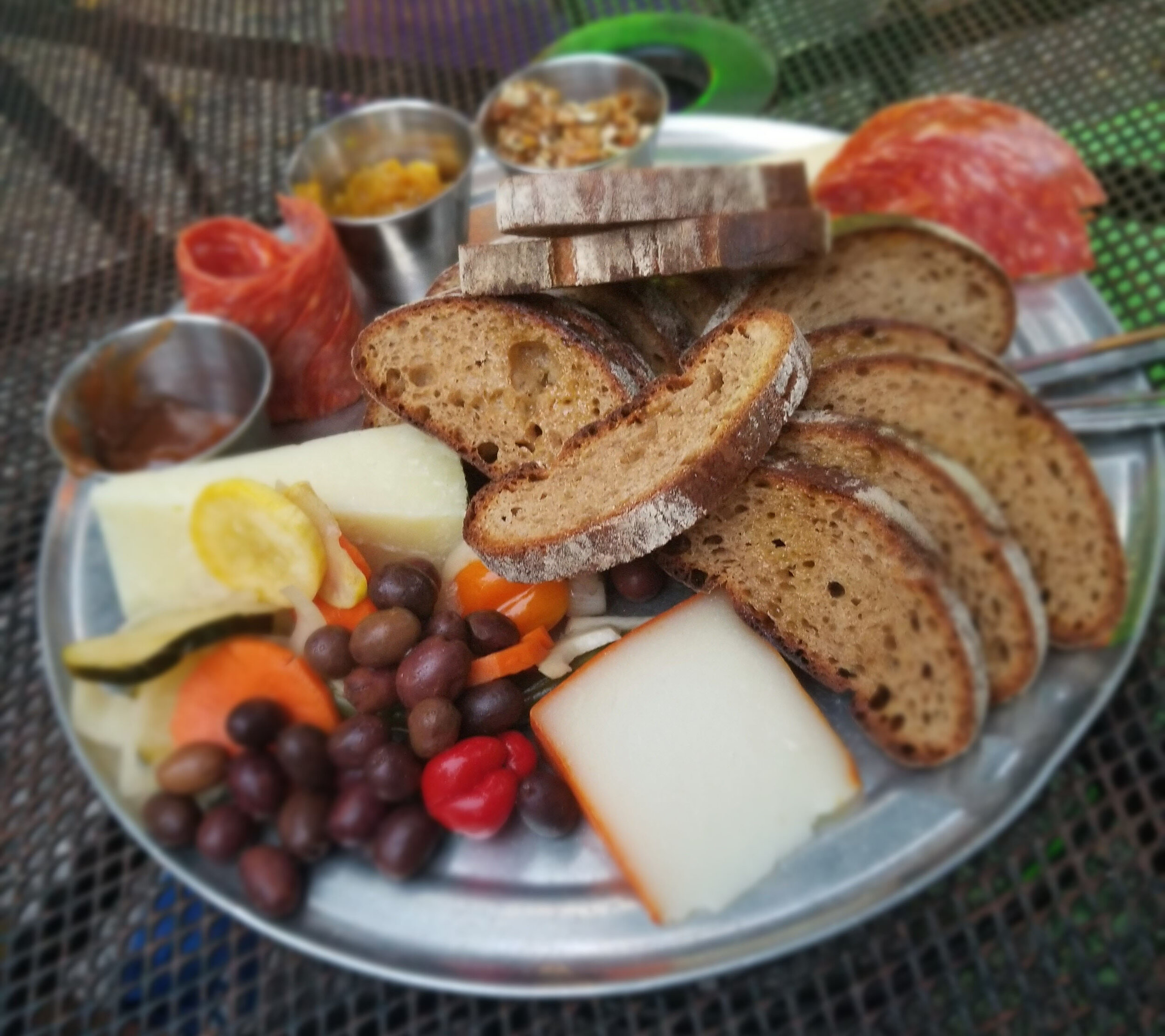 4 Days in New Orleans | Bacchanal Wine Cheese Plate | Laurel and Iron