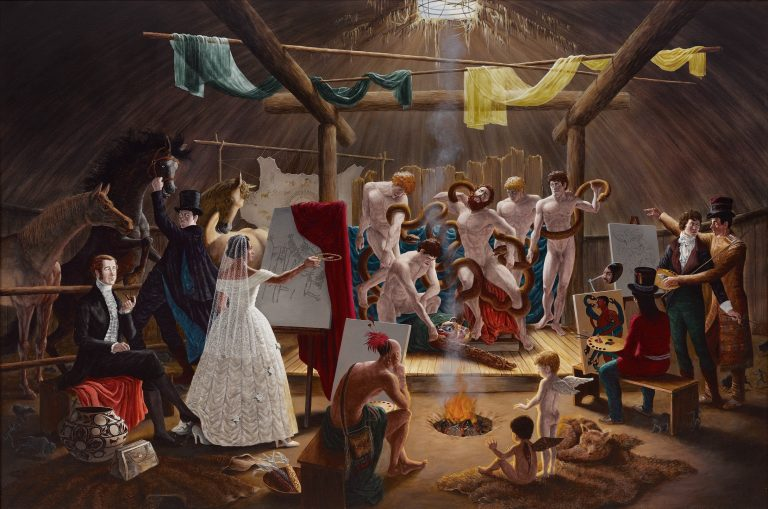 The Academy by Kent Monkman