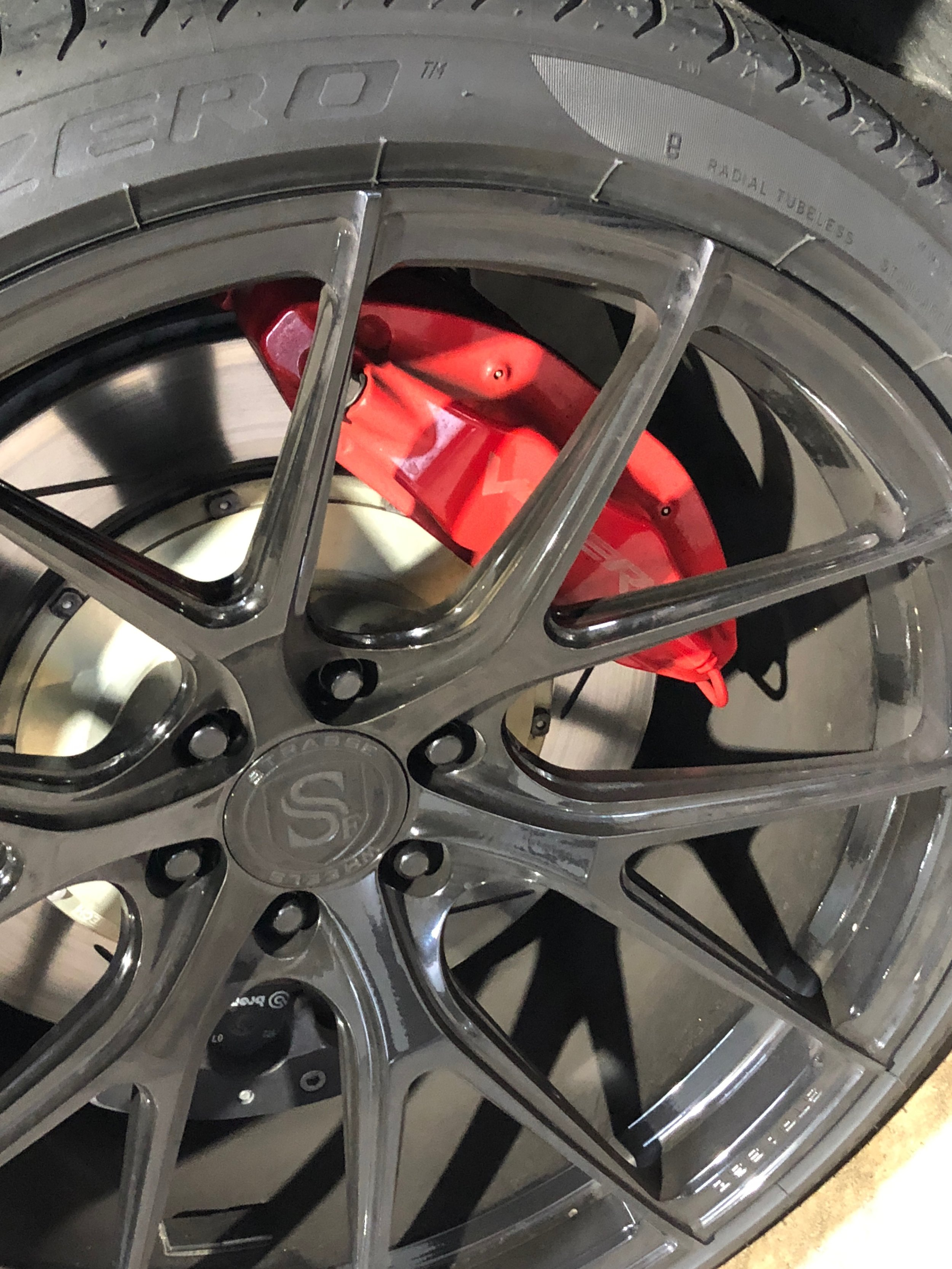 Dodge Viper Gts wheel