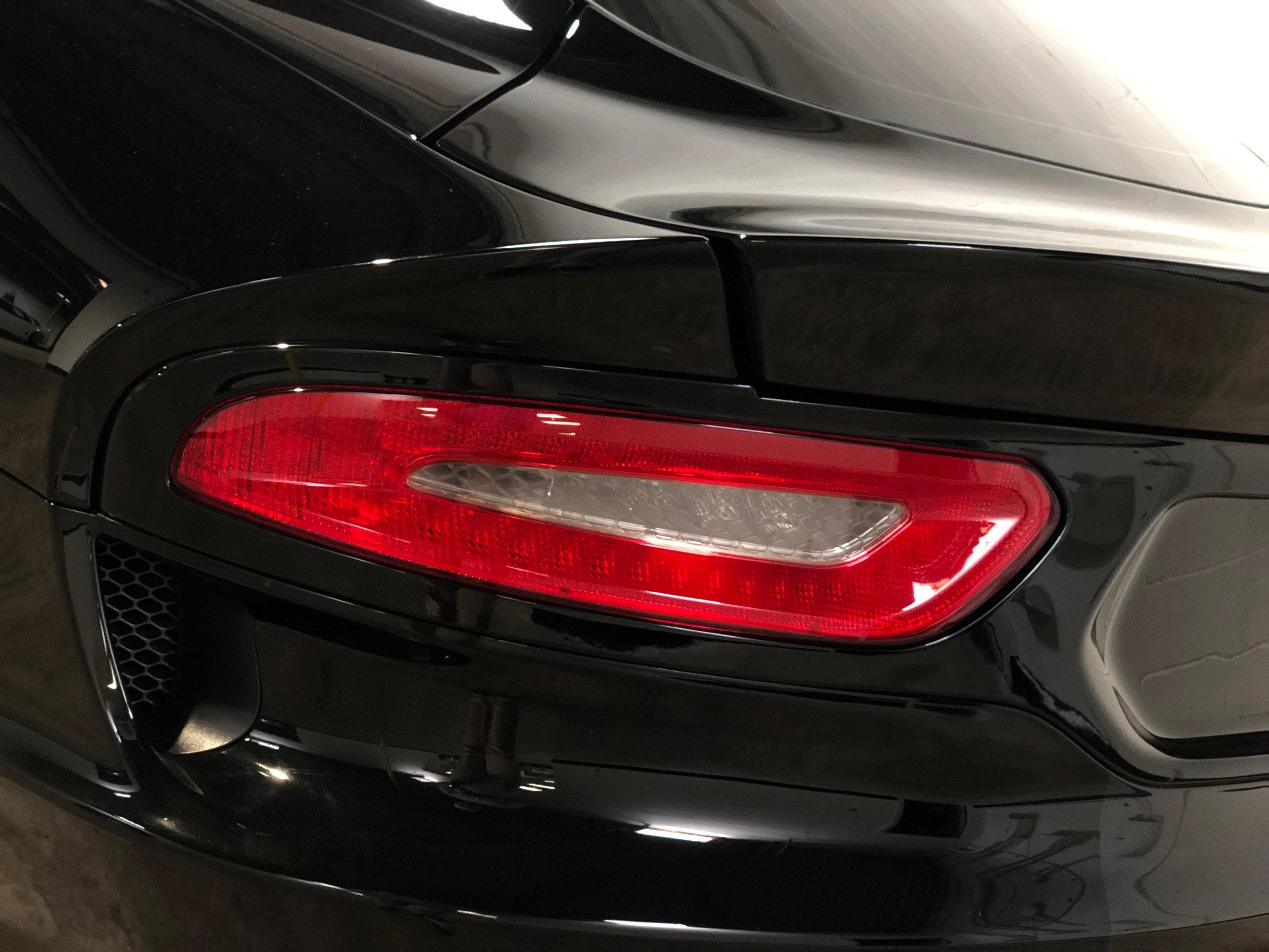 Black Dodge Viper Gts Back Light