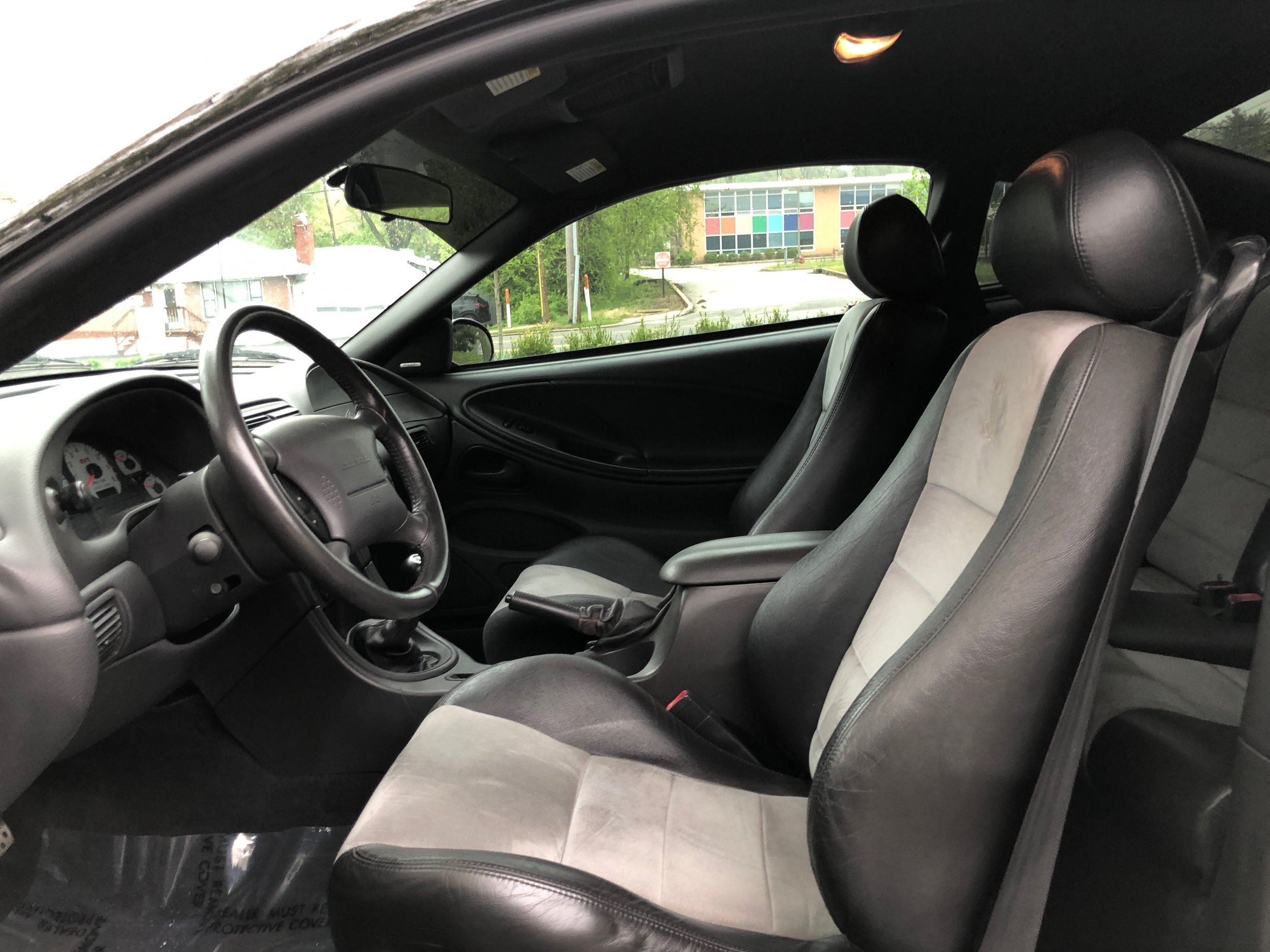 2003 Ford Mustang Svt Cobra Car Interior