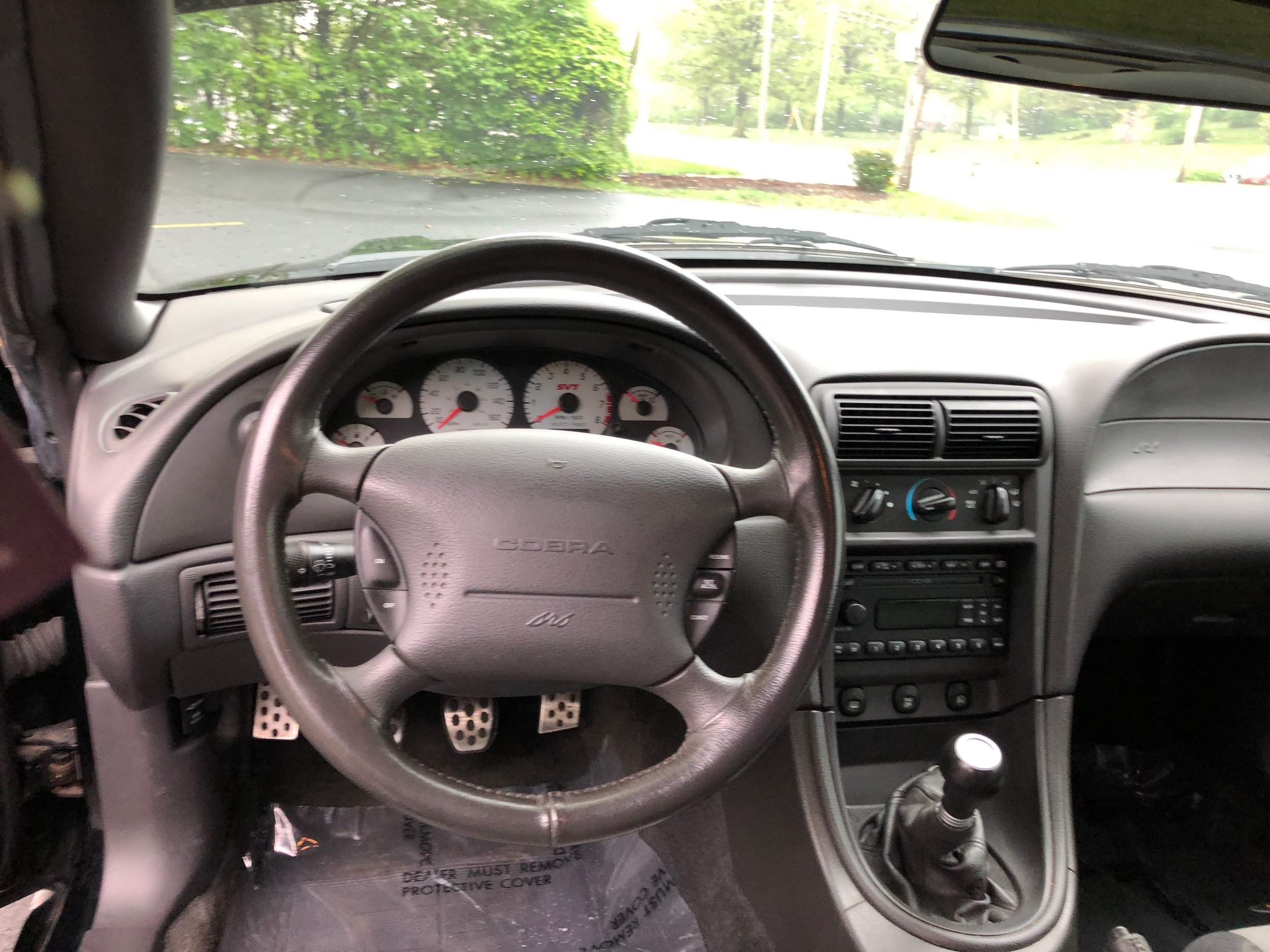 2003 Ford Mustang Svt Cobra Car Steering