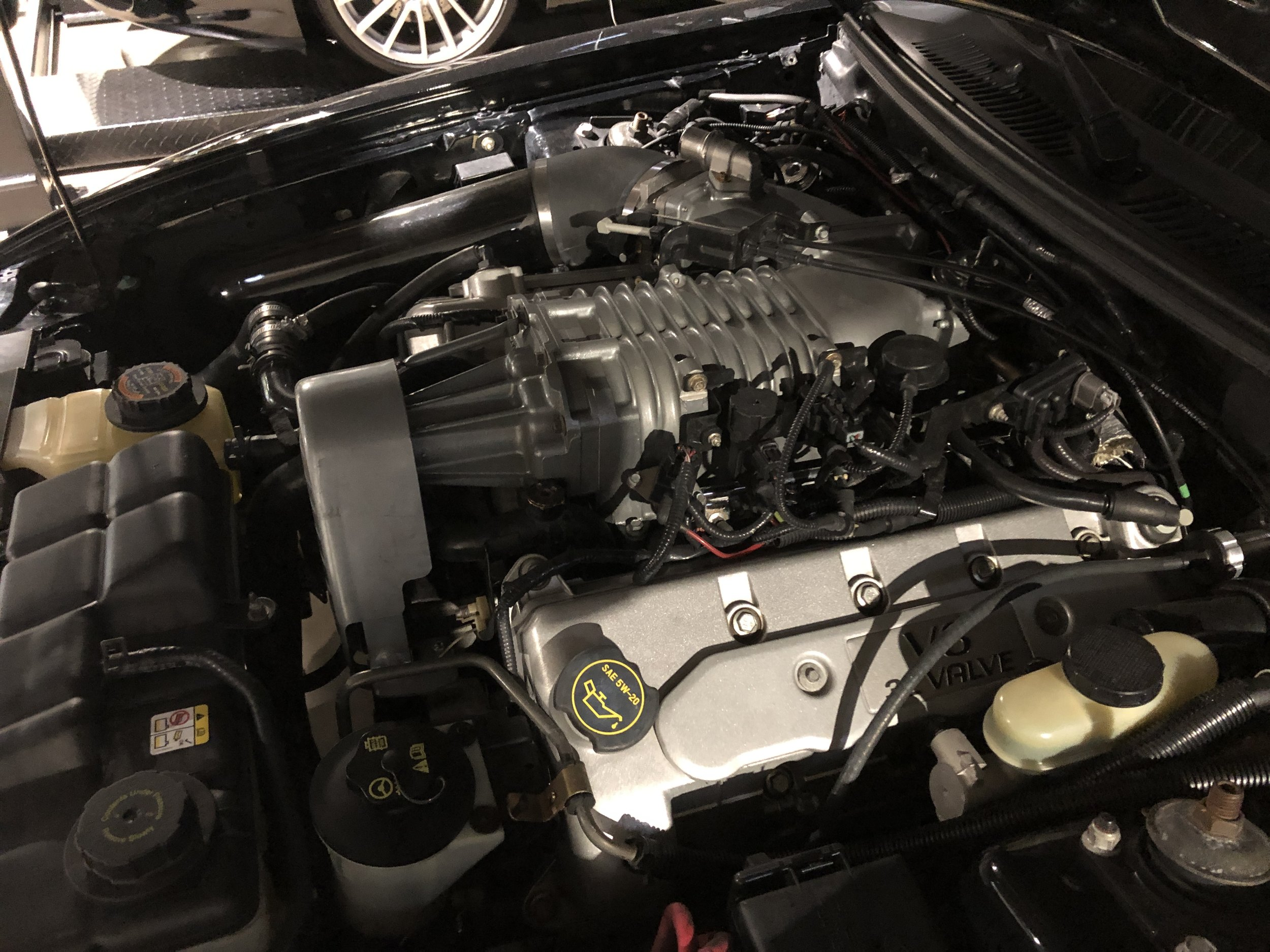 2003 Ford Mustang Svt Cobra Car Engine