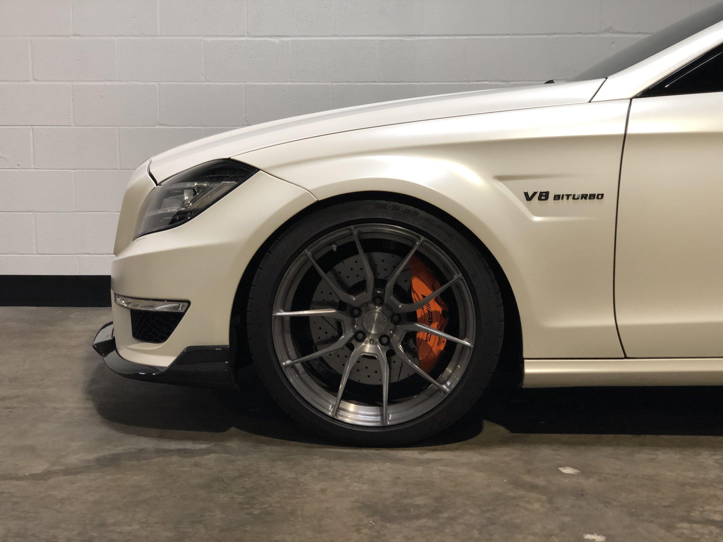 2012 Mercedes-Benz CLS 63 RENNTECH Car Front