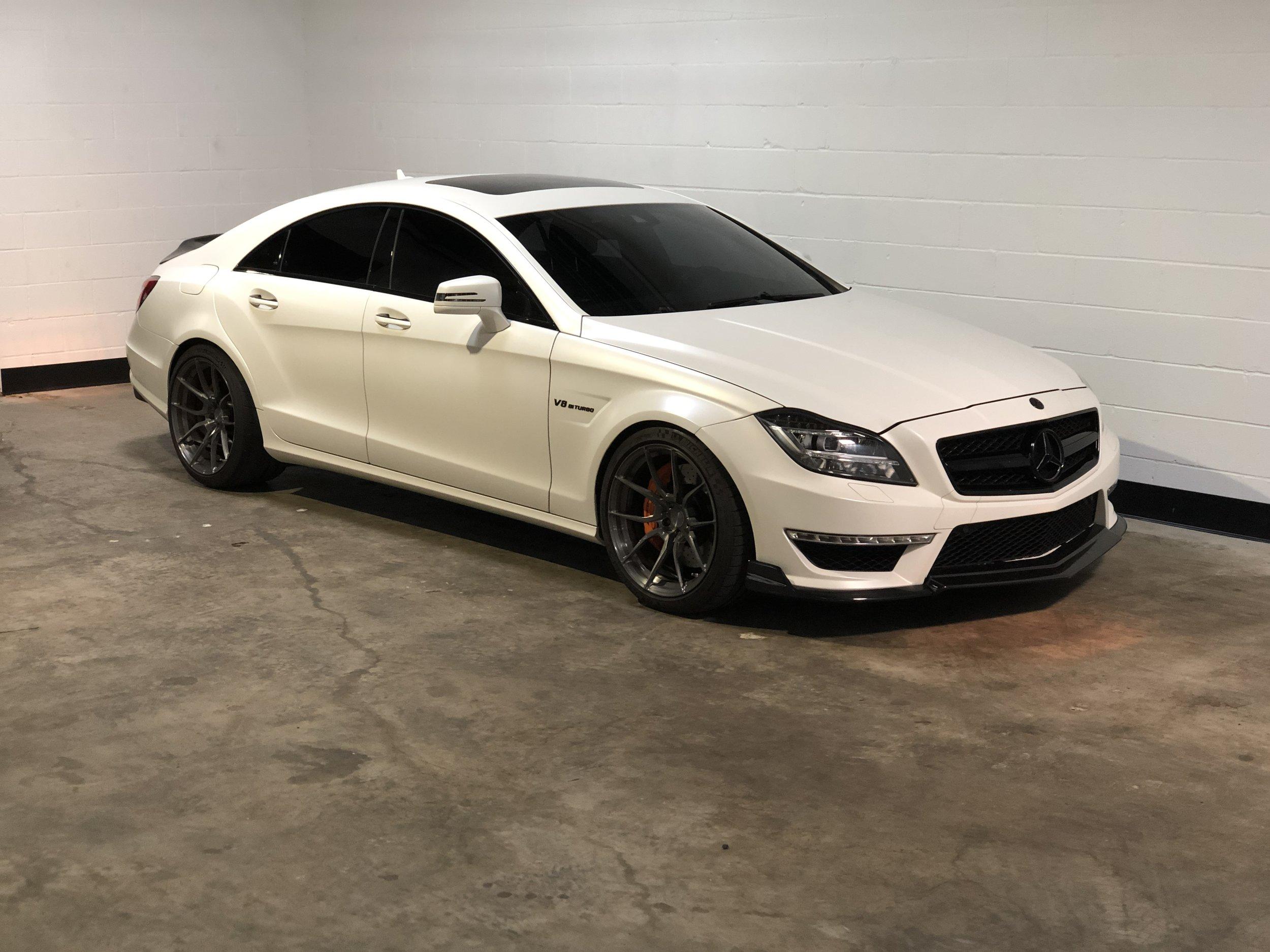 2012 Mercedes-Benz CLS 63 RENNTECH Car