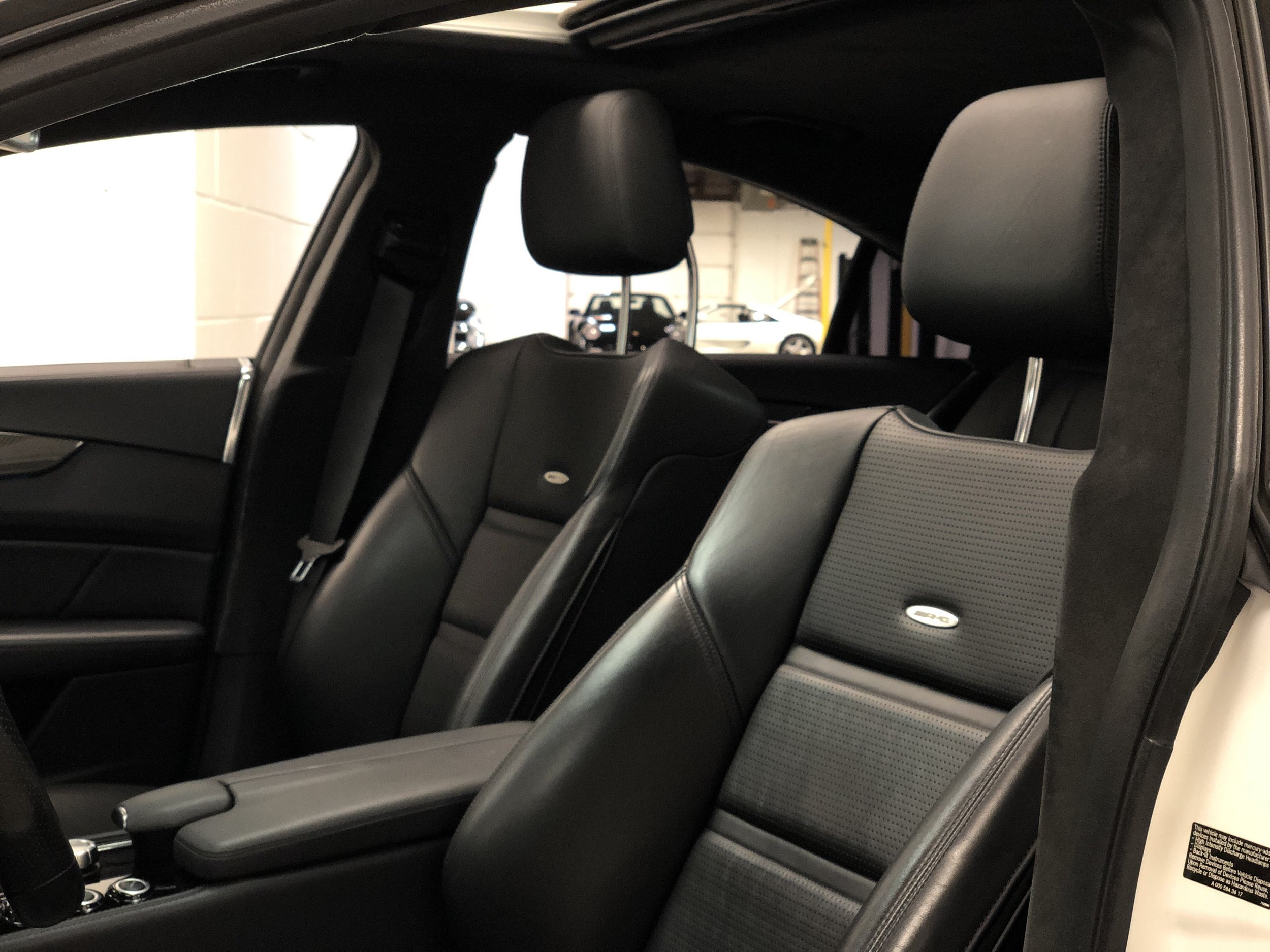 2012 Mercedes-Benz CLS 63 RENNTECH Seats