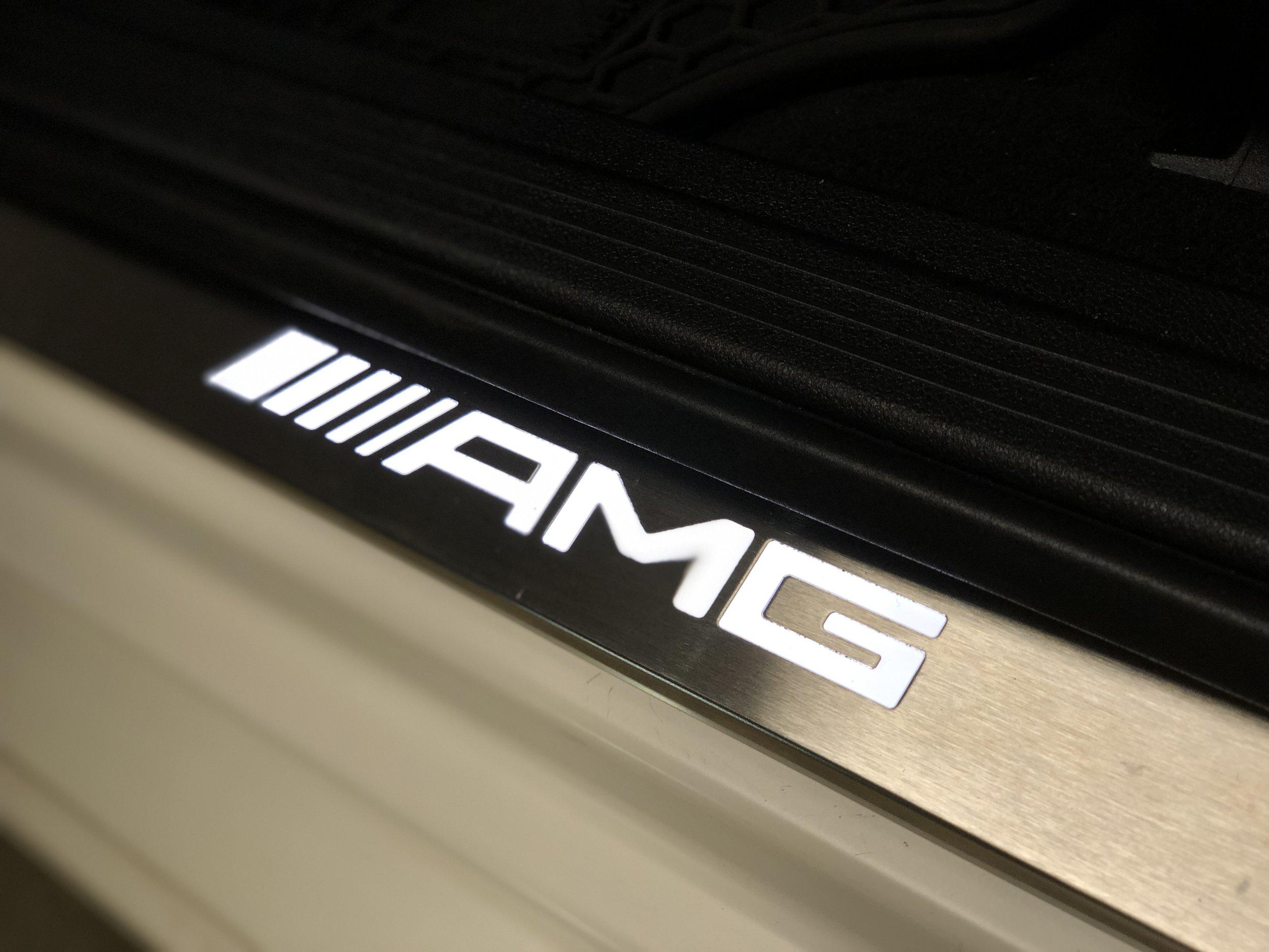 2012 Mercedes CLS63 RennTech White Black DETAILS — RP