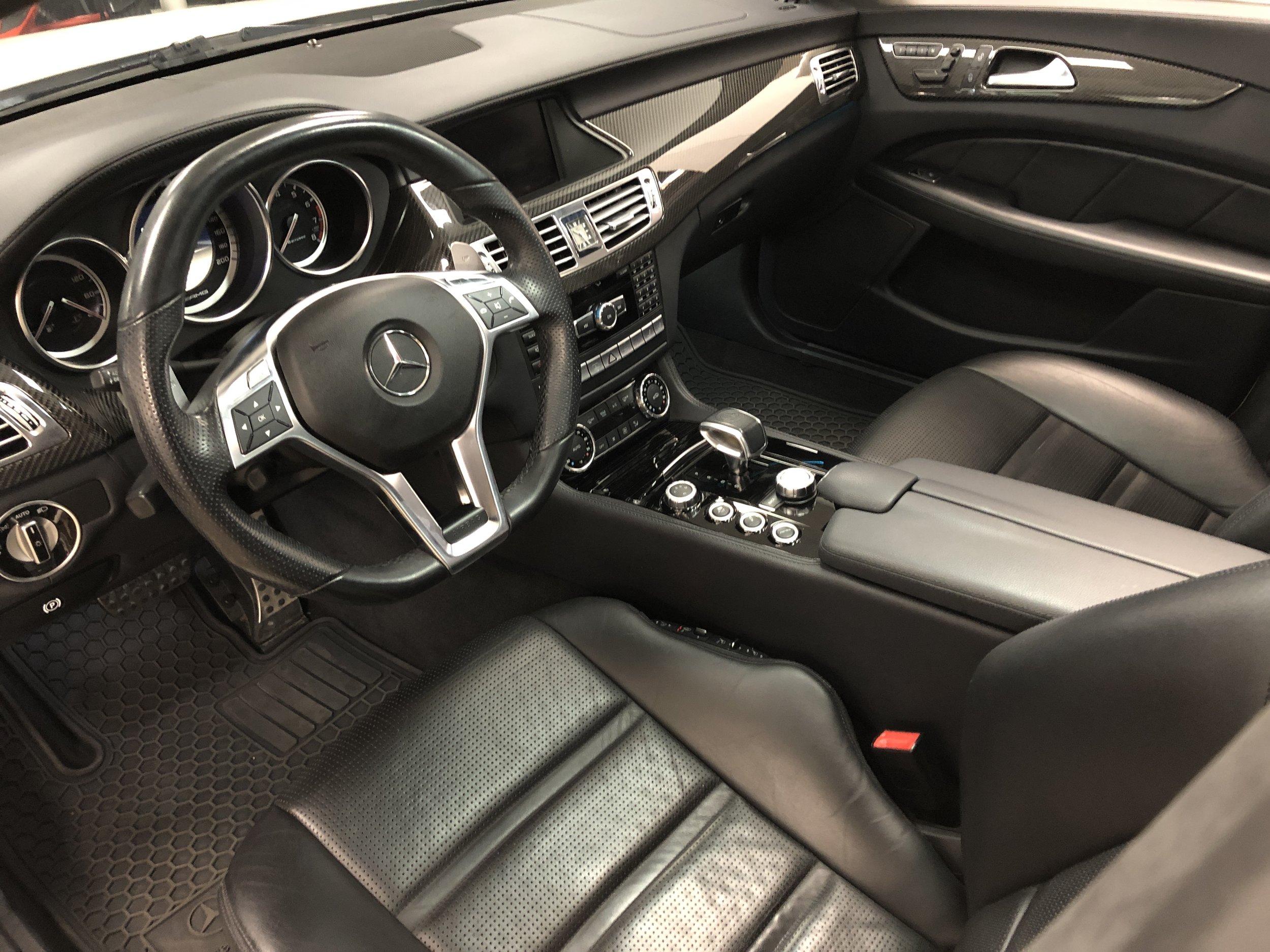 2012 Mercedes-Benz CLS 63 RENNTECH Steering