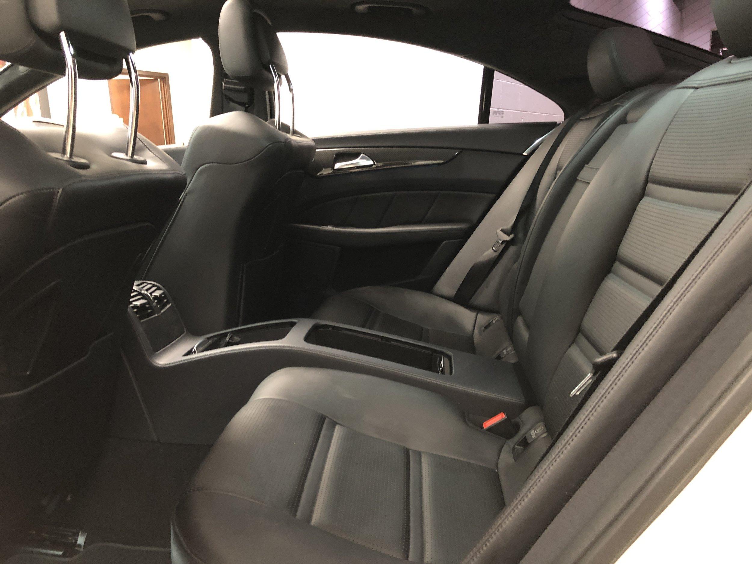 2012 Mercedes-Benz CLS 63 RENNTECH Back Seats