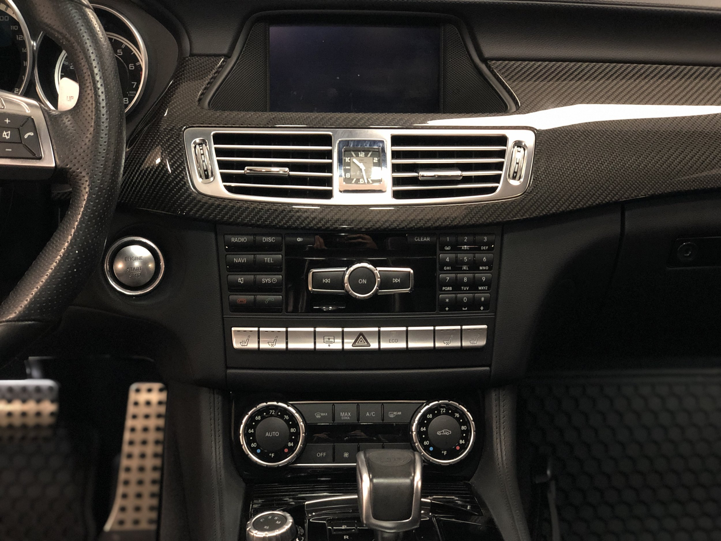 2012 Mercedes-Benz CLS 63 RENNTECH Front Interior
