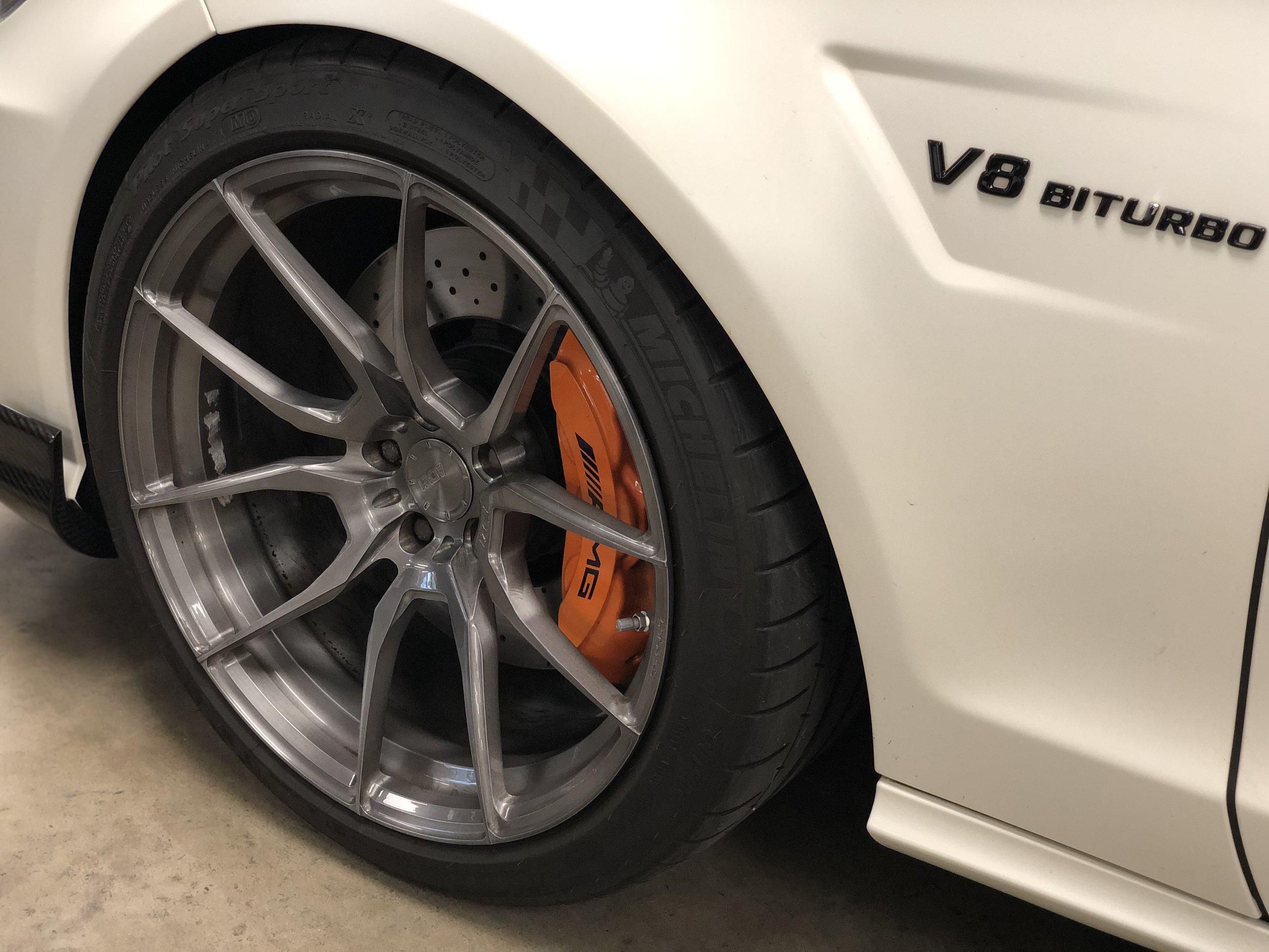2012 Mercedes-Benz CLS 63 RENNTECH Front Wheel