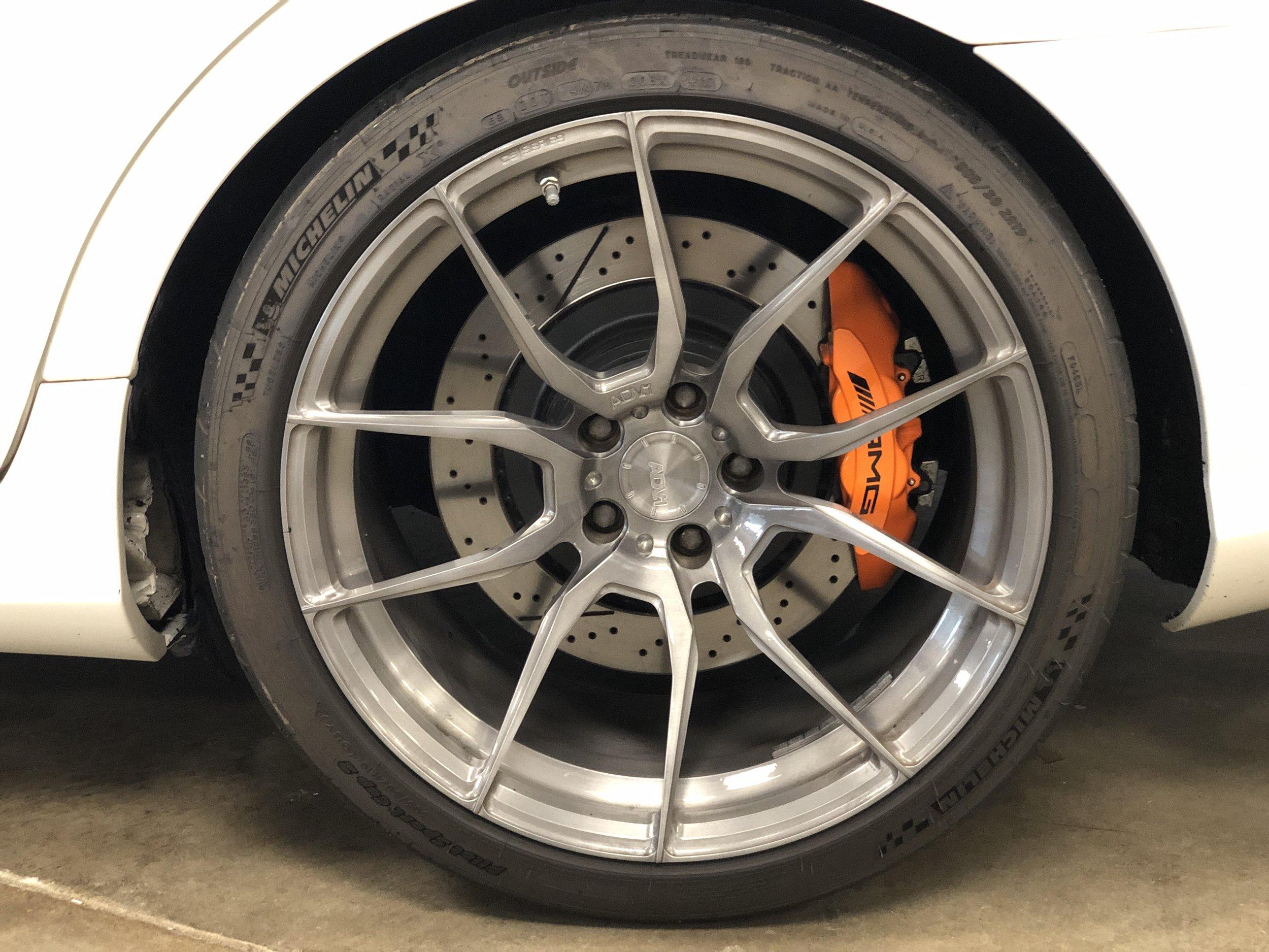 2012 Mercedes-Benz CLS 63 RENNTECH Wheel