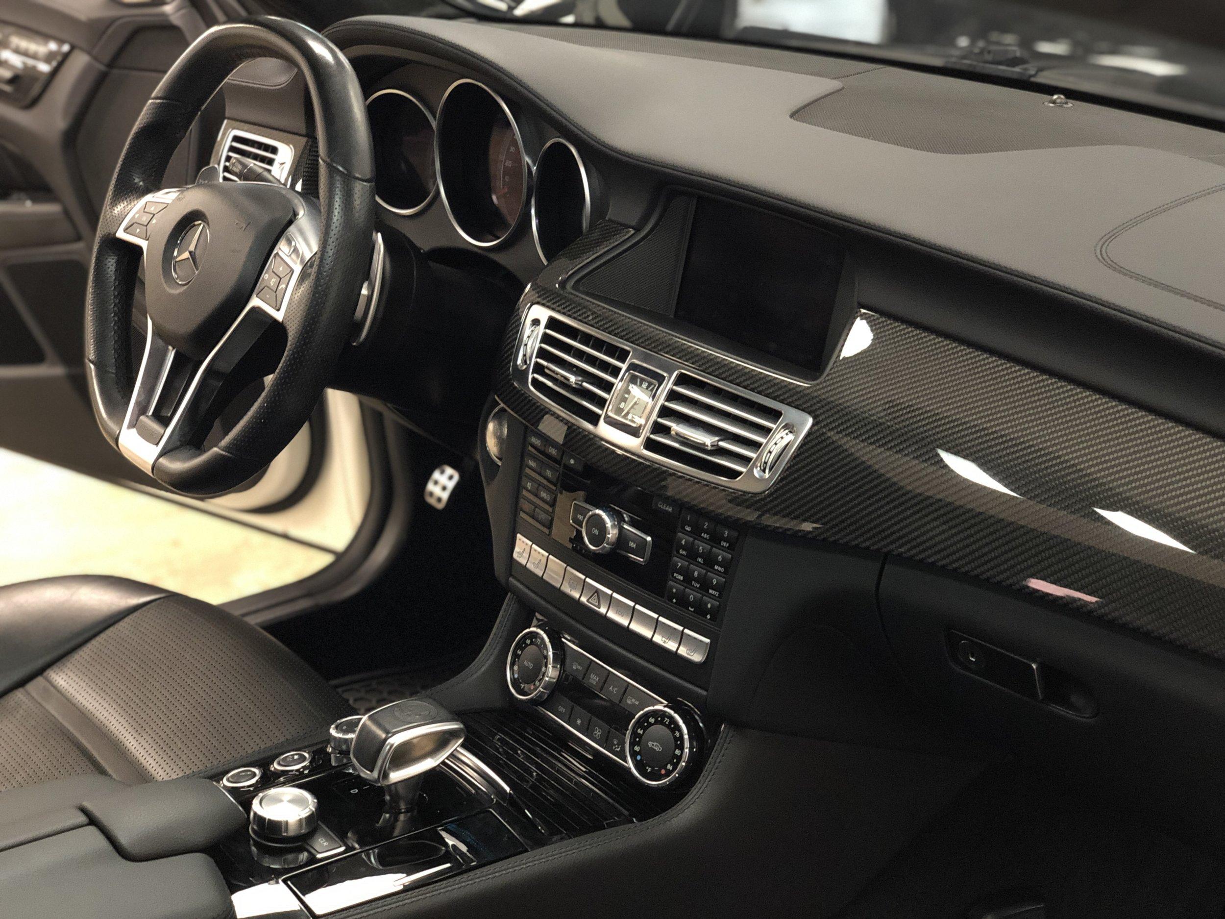 2012 Mercedes-Benz CLS 63 RENNTECH Car Interior