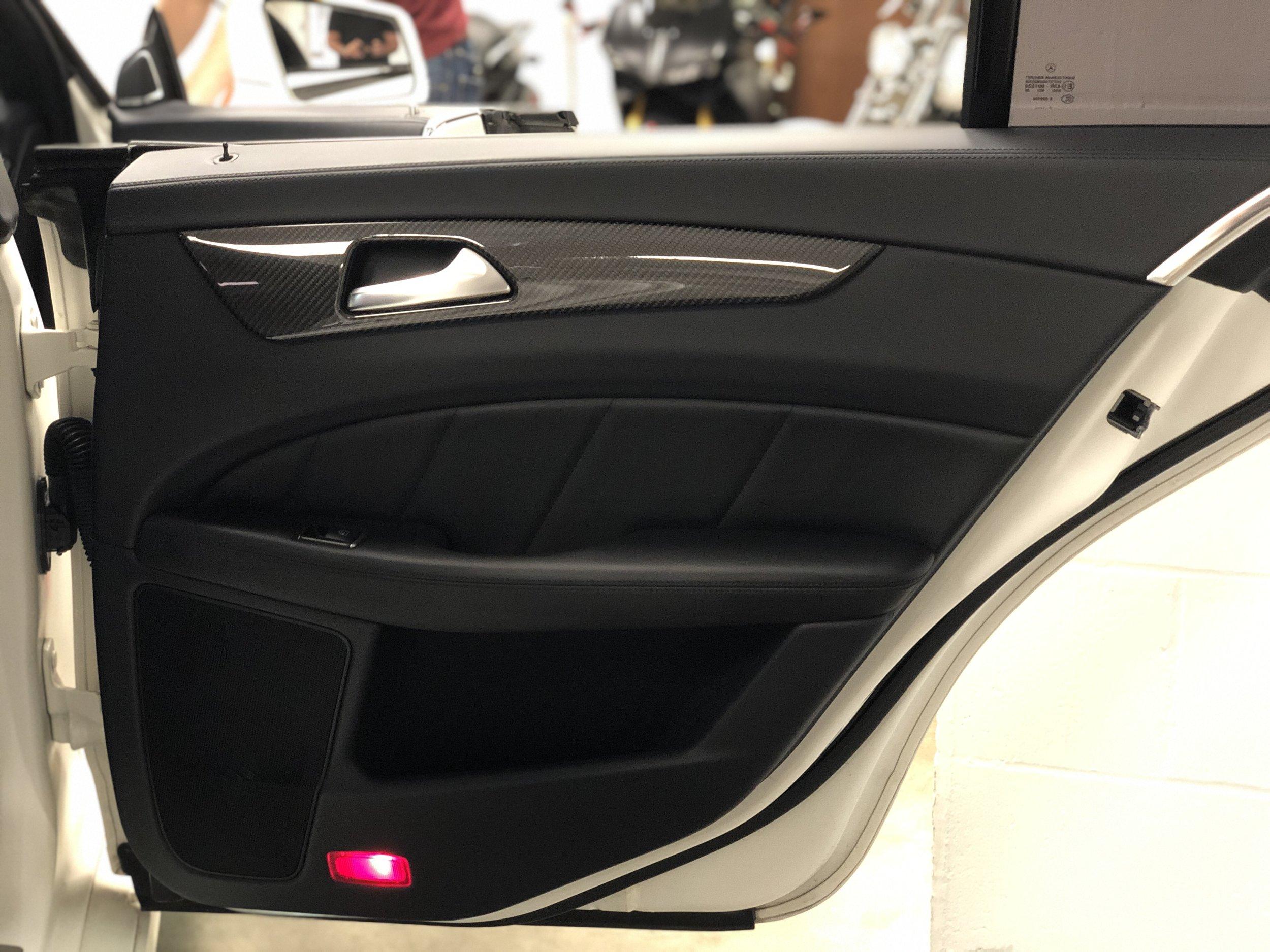 2012 Mercedes-Benz CLS 63 RENNTECH Door