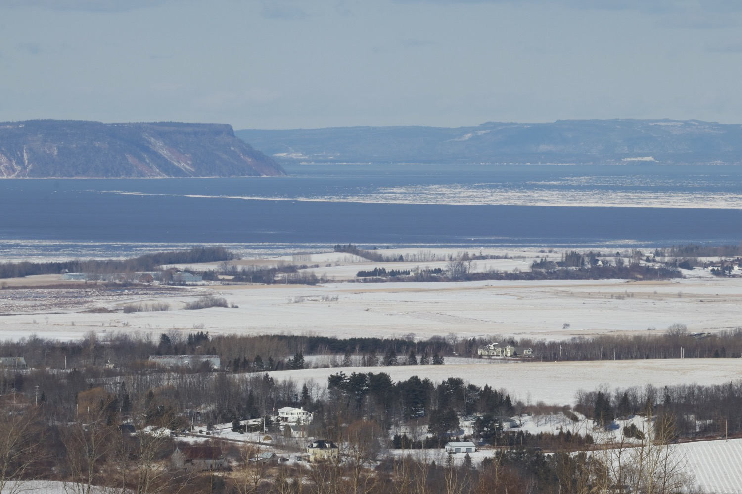 Reflections on the tourism we want for this region of Nova Scotia  ( Cape Blomidon, Bay of Fundy. View west over the Annapolis Valley)