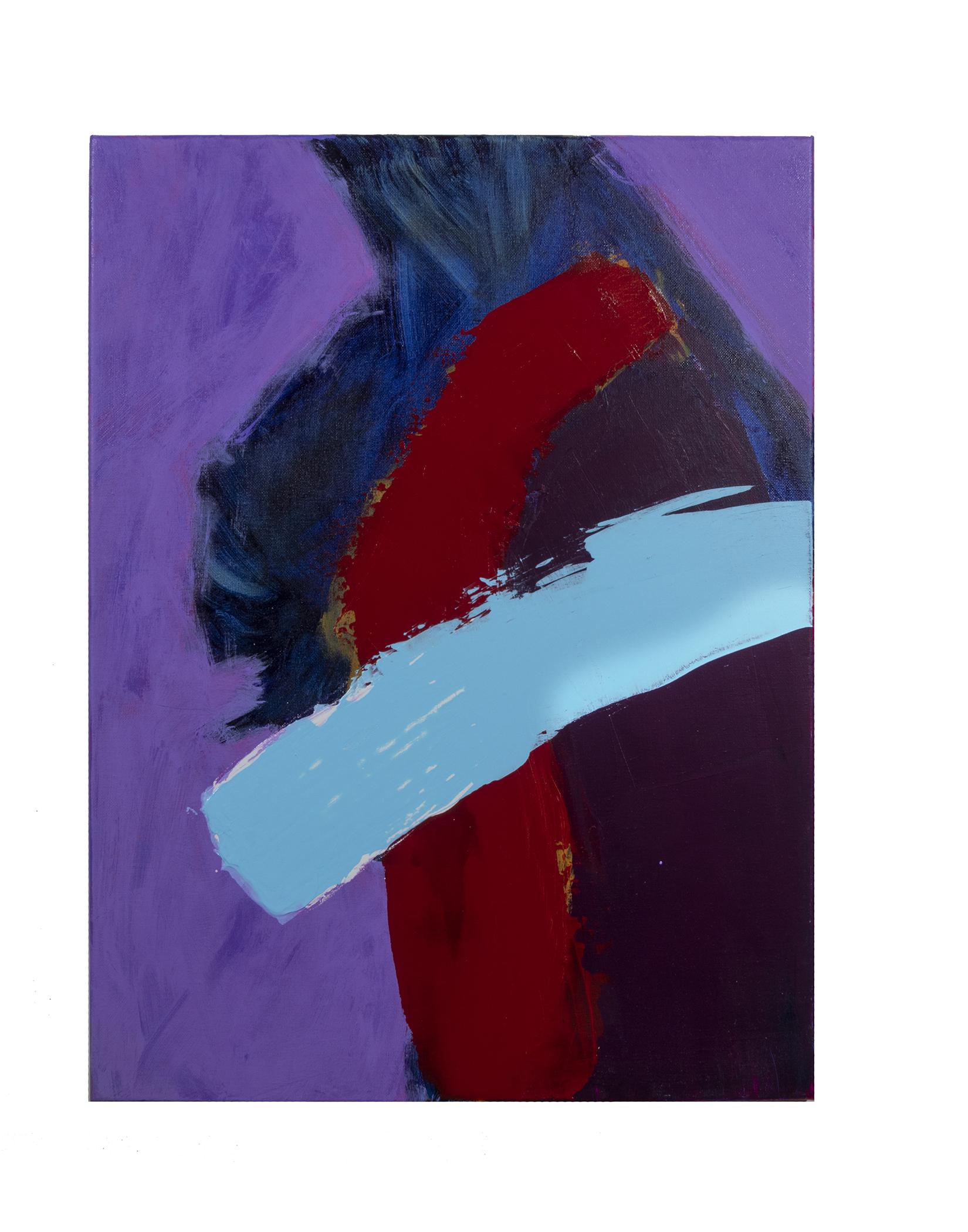 """Dirty Dozen Series No. VII (2019) oil & mixed media on canvas 18"""" x 24"""""""