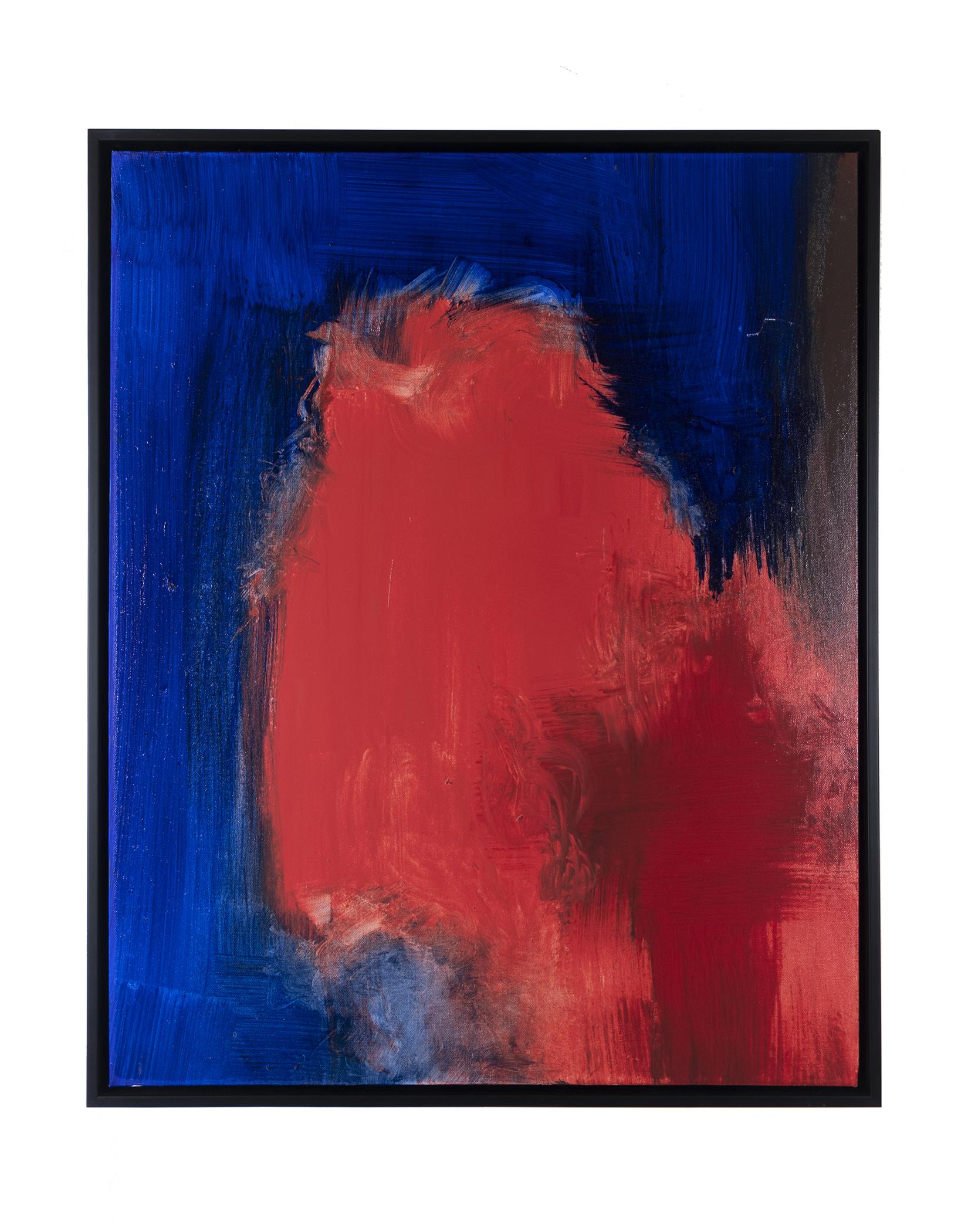 "Dirty Dozen Series No. VI (2019) oil & mixed media on canvas 24"" x 30"""