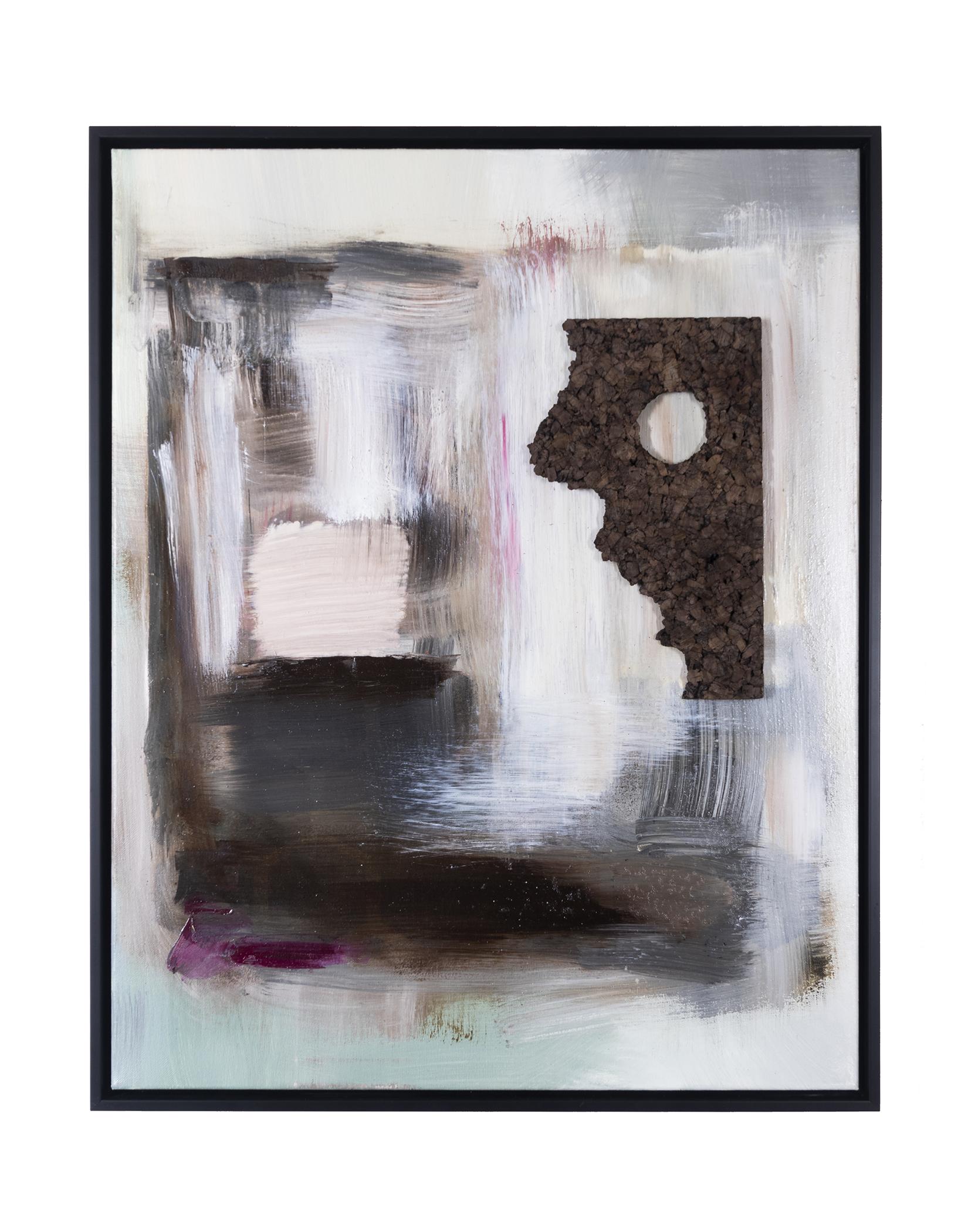 "Dirty Dozen Series II(2019) oil & mixed media on canvas 24"" x 30"""