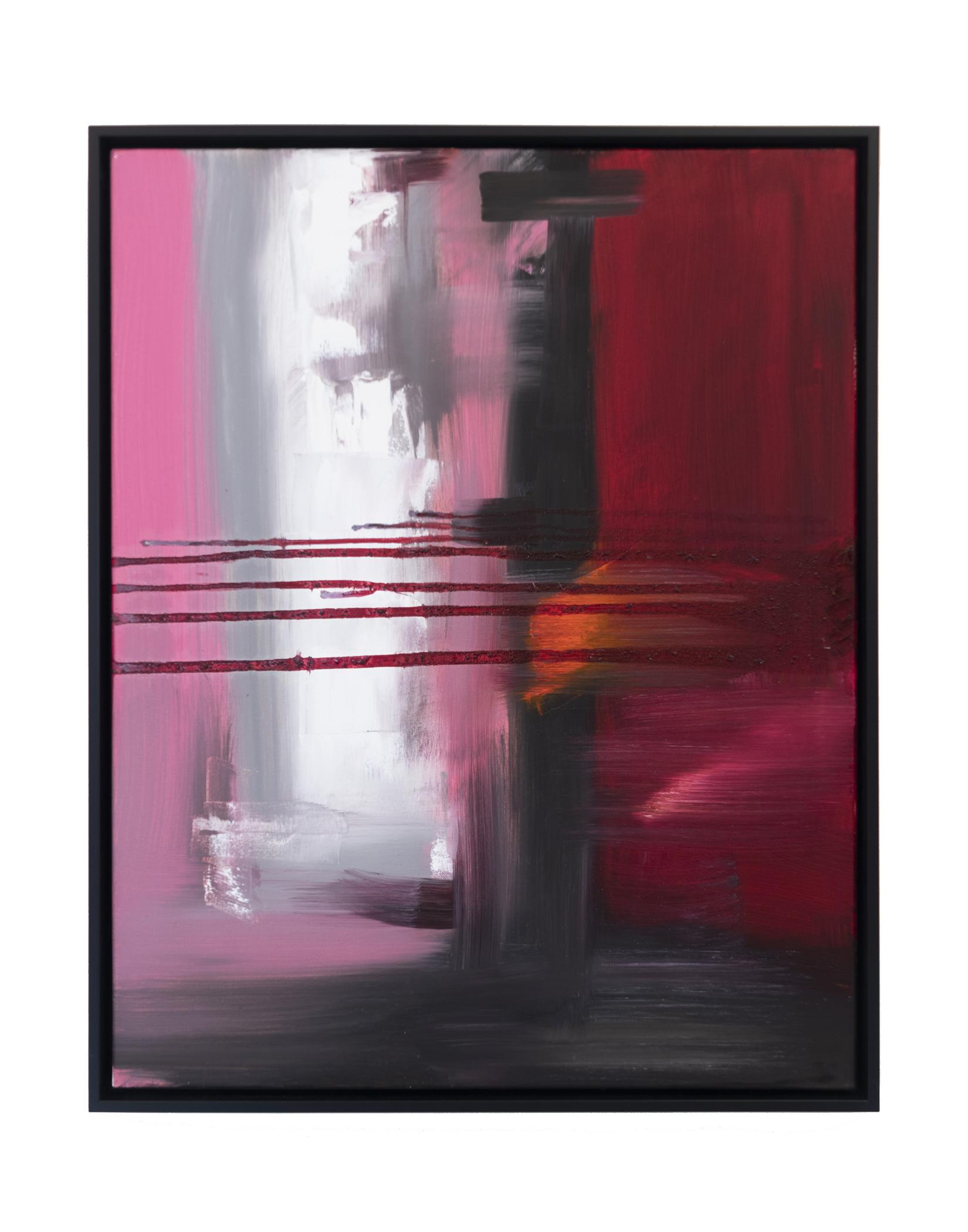 """Dirty Dozen Series No. XII (2019) oil on canvas 24"""" x 30"""""""