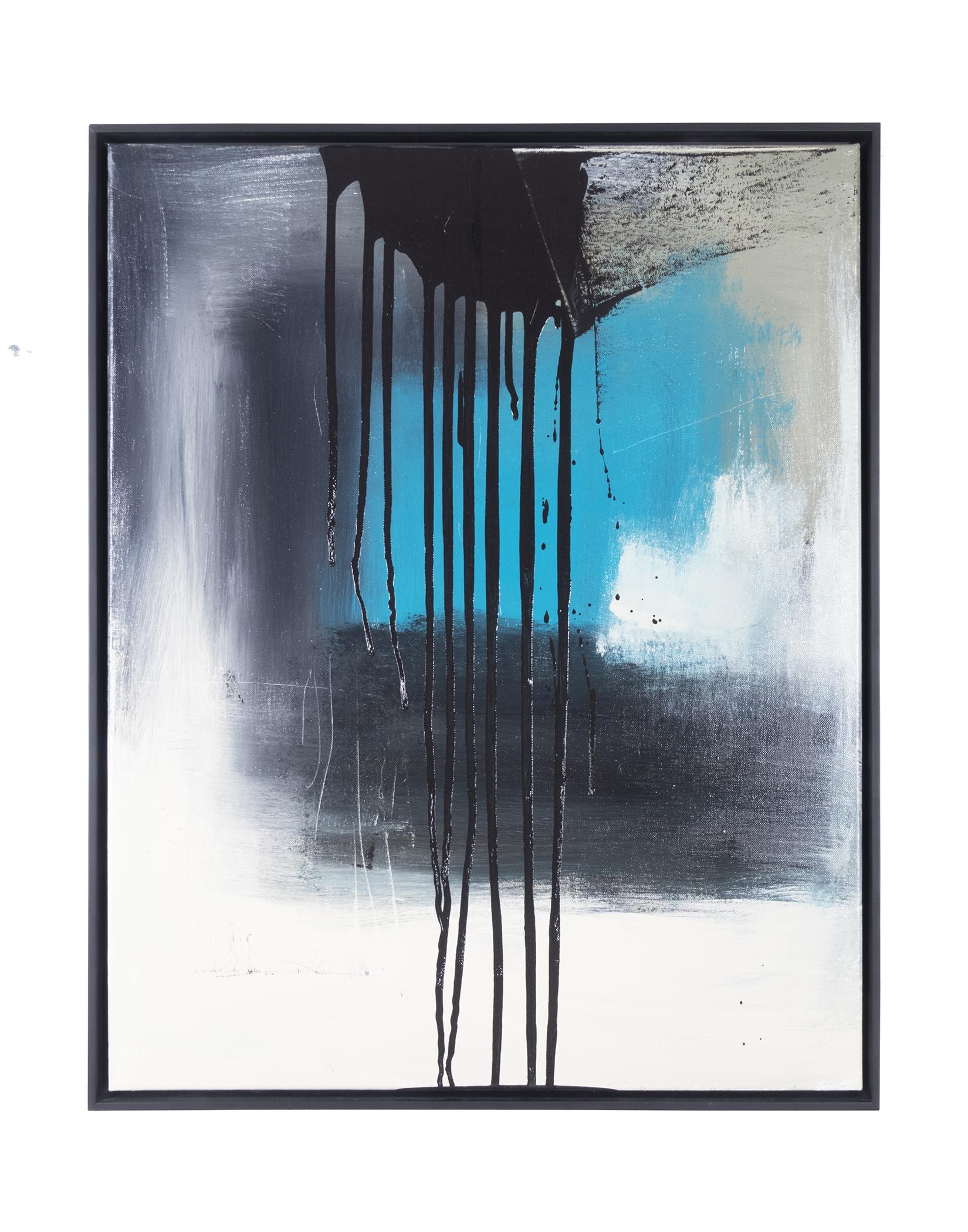 "Dirty Dozen Series No. VIII (2018) oil on canvas 24"" x 30"""