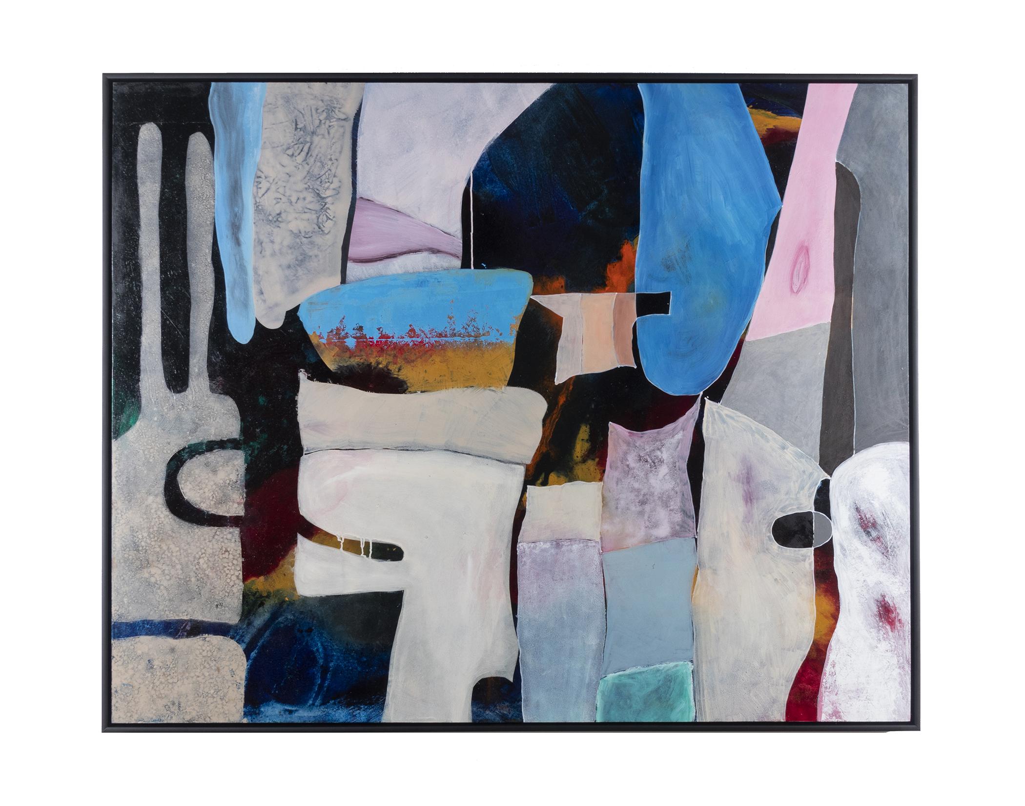 """Anna Carll V (2019) oil paint on wood panel 48"""" x 60"""""""
