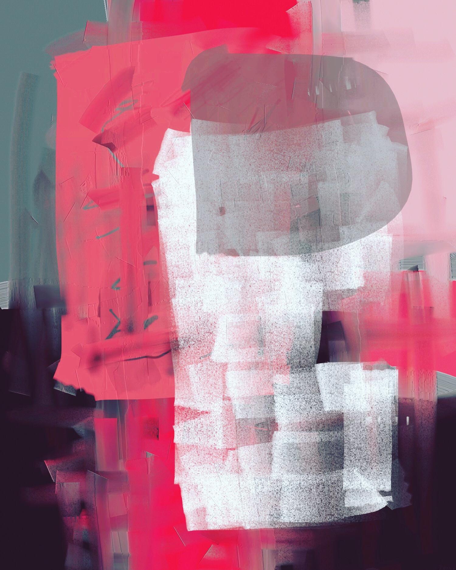 Violet Oon Abstract(2019) iPad creation