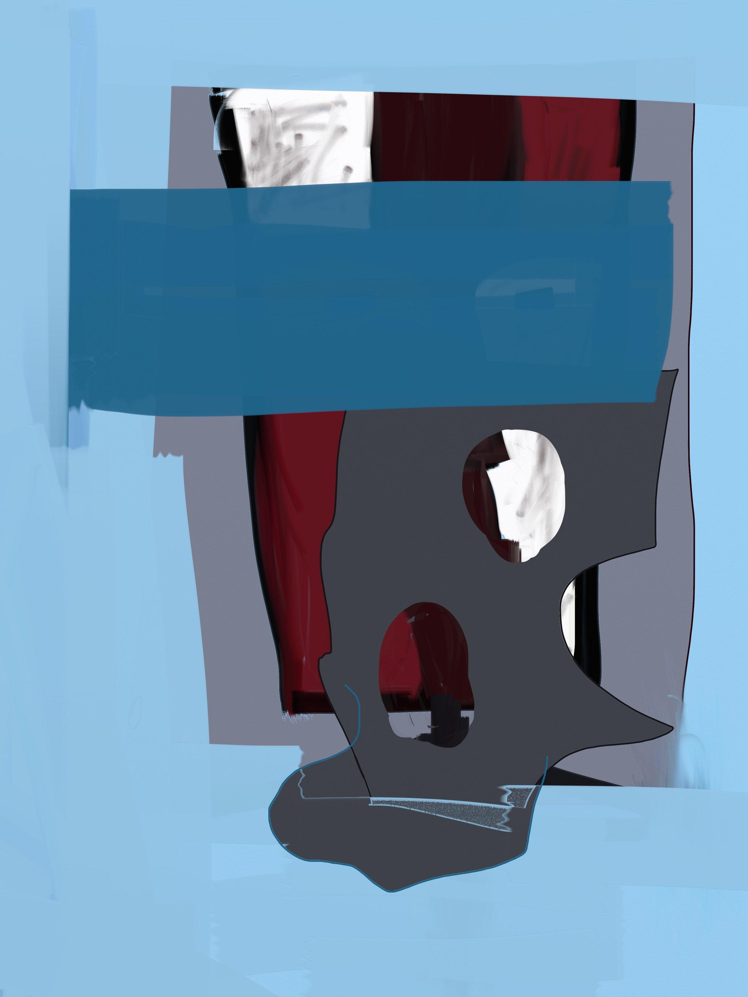 Where's My Head? (2019) iPad creation