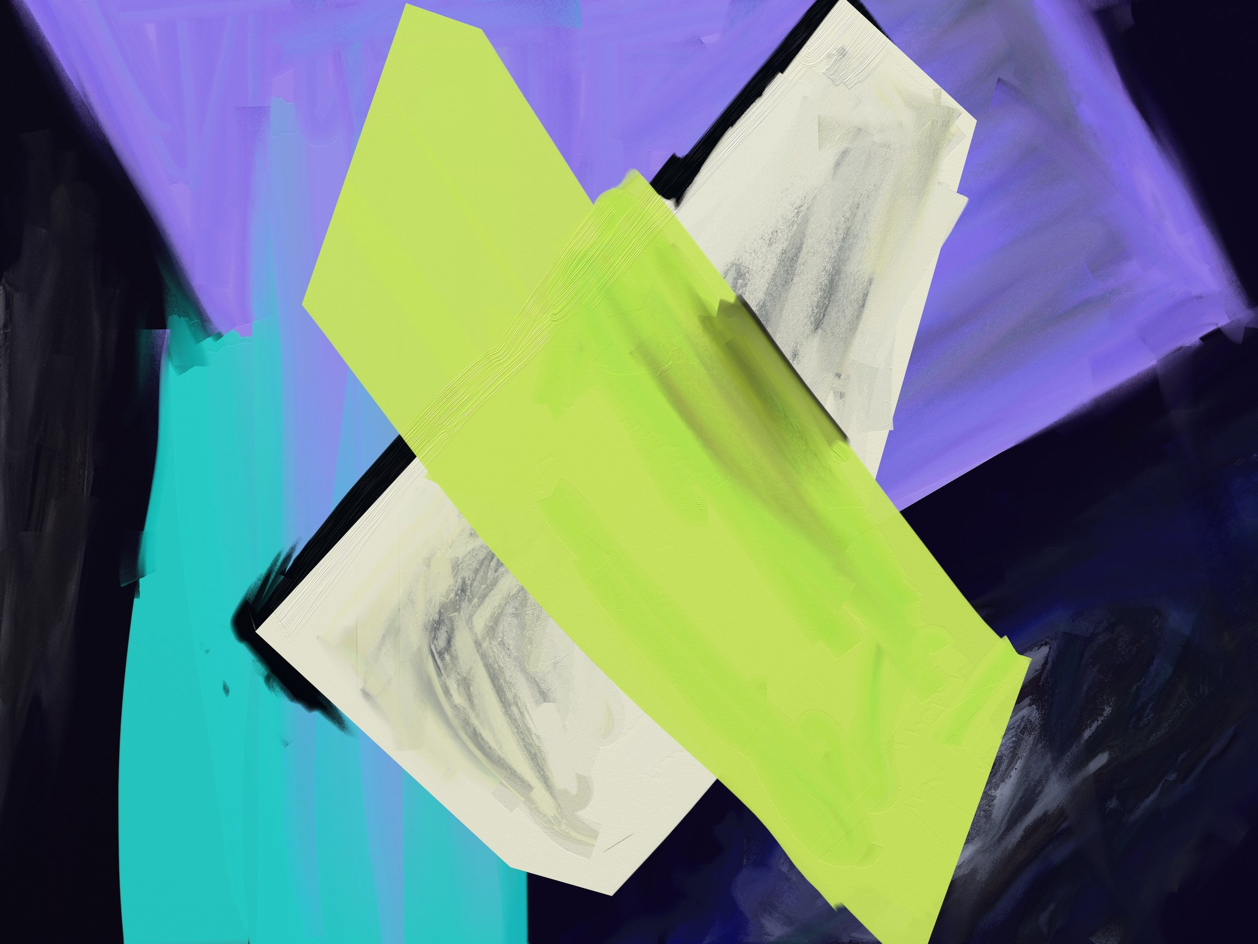 Unhinged (2019) iPad creation