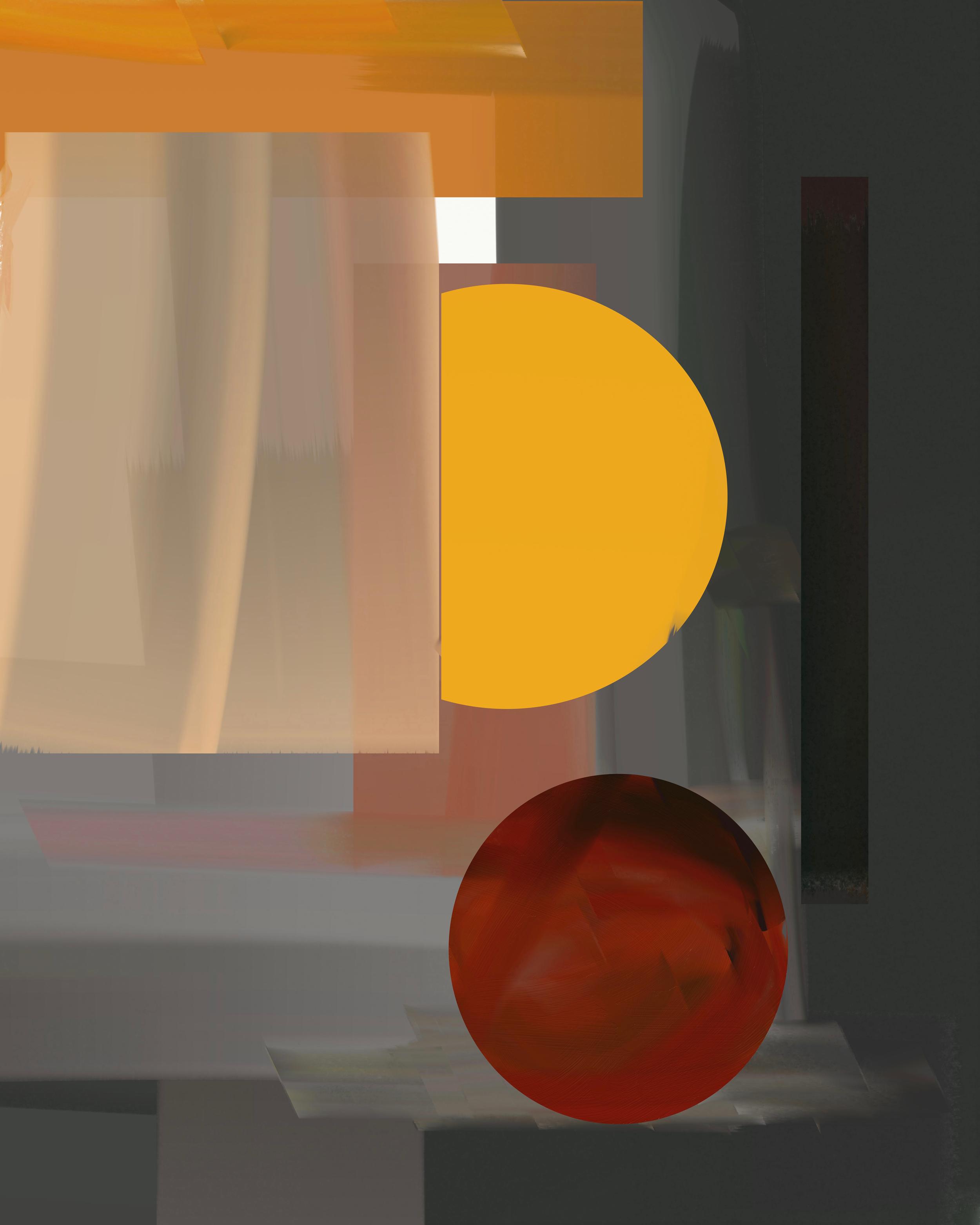 Digital Abstract Series - No. I (2019) iPad creation