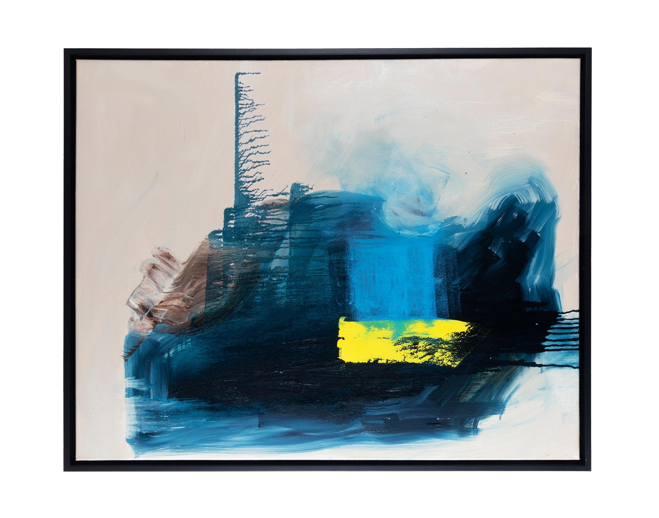"Dirty Dozen Series (2019) oil on canvas 24"" x 30"""