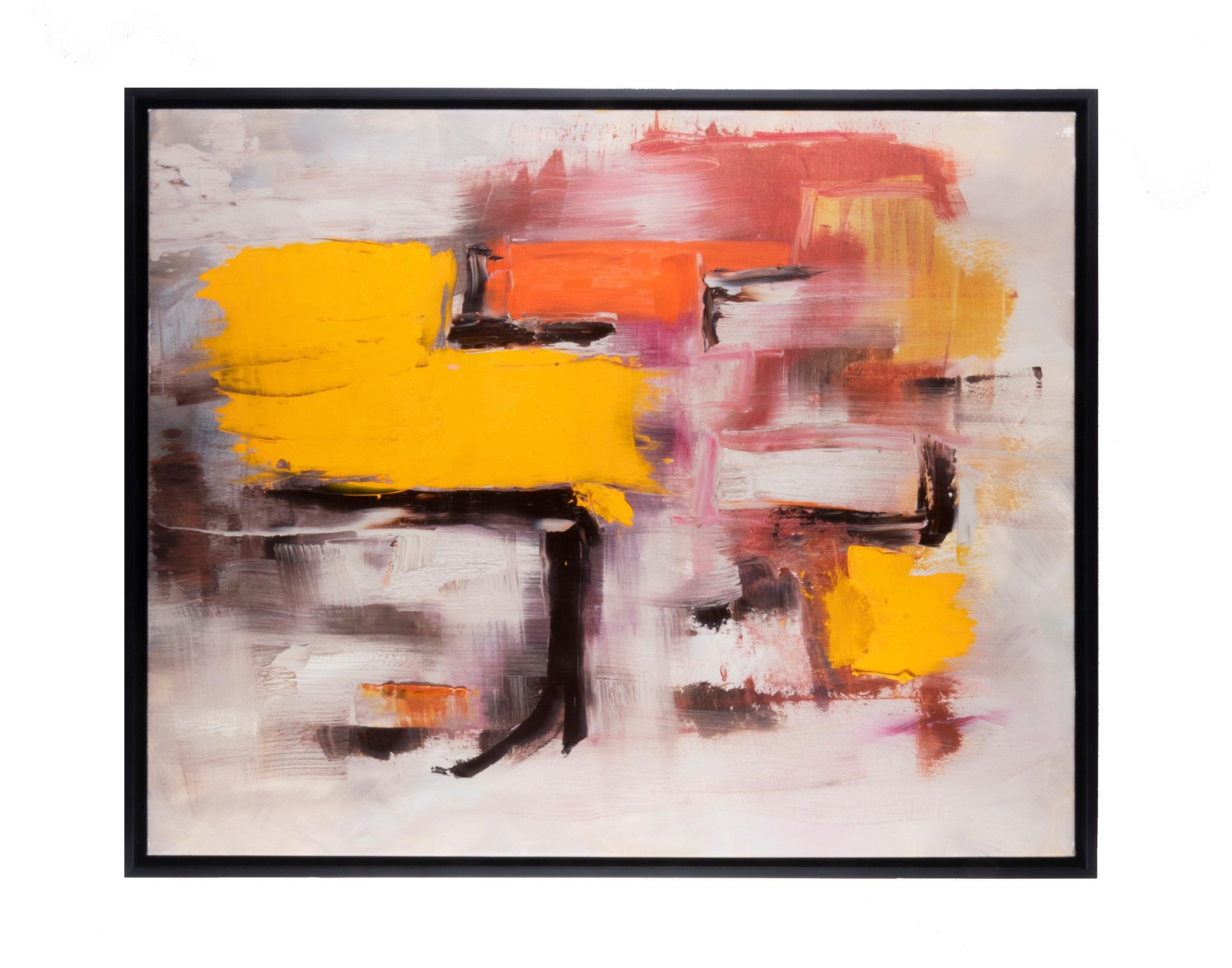 "Pilgrim's Harvest (2019) oil on canvas 24"" x 30"""