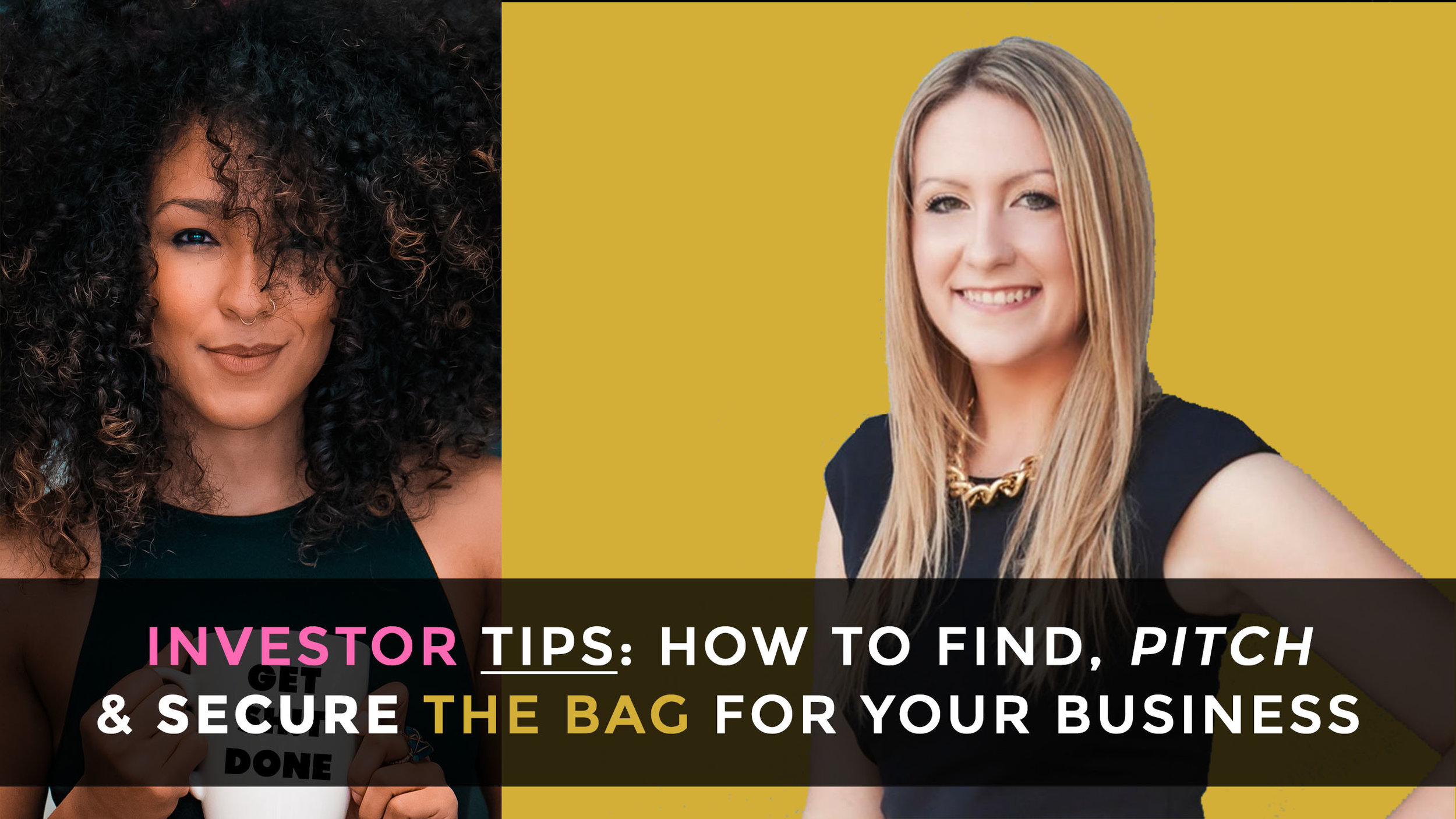 Finding investors for your biz is kind of like dating for marriage. You're courting one another, figuring out your compatibility, and ultimately coming to the conclusion on whether or not to go steady. Learn how to pitch & secure $ from investors with Anna Palmer, serial entrepreneur who has raised $13M+ & founding partner at @ XFactor Ventures, a fund focused on funding female-founded companies.     WATCH NOW  ( Will be available in podcast format soon!)