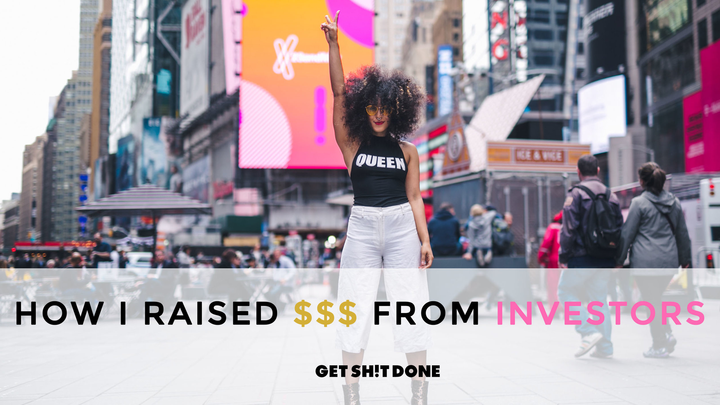 The 1st investor I ever pitched for my 1st company didn't invest and that company failed BUT the good news is that I went on to pitch several investors in my next company, where we secured close to $3M in capital prior to my resignation. However, raising capital from investors is not your only option to succeed. On this episode of Get Sh!t Done, I share my office hours with Dreamers//Doers where I walk you through whether or not you should fundraise and tips & tricks I used to secure capital.    WATCH NOW  ( Will be available in podcast format soon!)