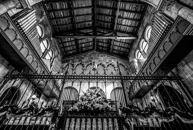 Riverside Baptist Church is listed on the National Register of Historic Places. You don't get much better wedding locations!  #blackandwhite #blackandwhitephoto  #wedding #weddingphotographer  #brideandgroom #theknot #nikon #d810 #photography #bw #bwphoto #floridaphotographer #jacksonville #jax #congratulations #classic #weddingphoto #weddingphotography #creativewedding #makemoments