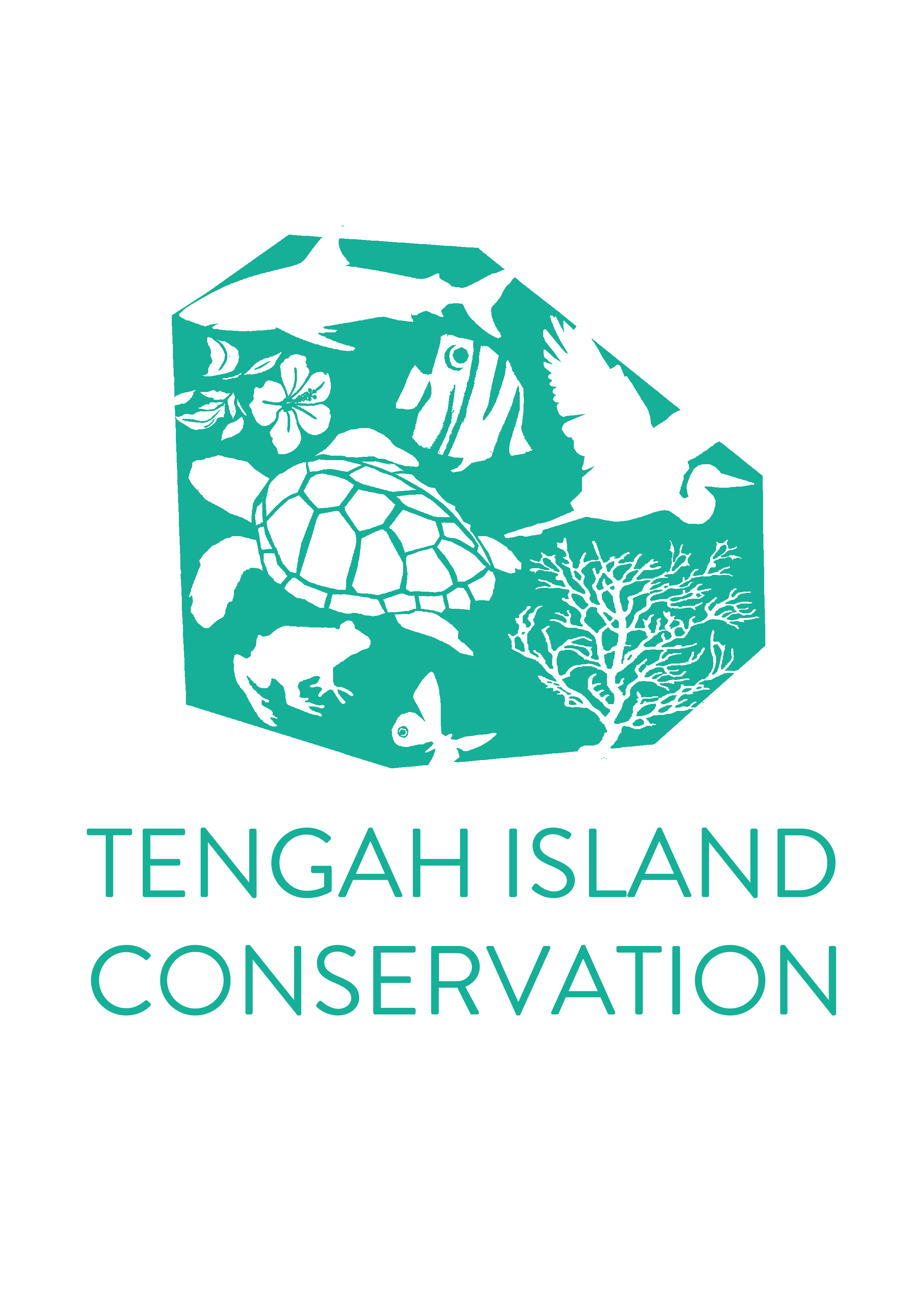 Tengah Island Conservation logo TURQUOISE.png
