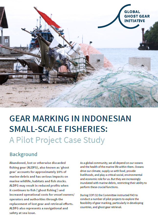 Indonesian Gear Marking Project Summary