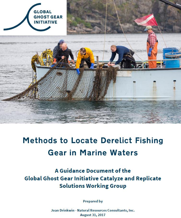 Methods to Locate Derelict Fishing Gear in Marine Waters
