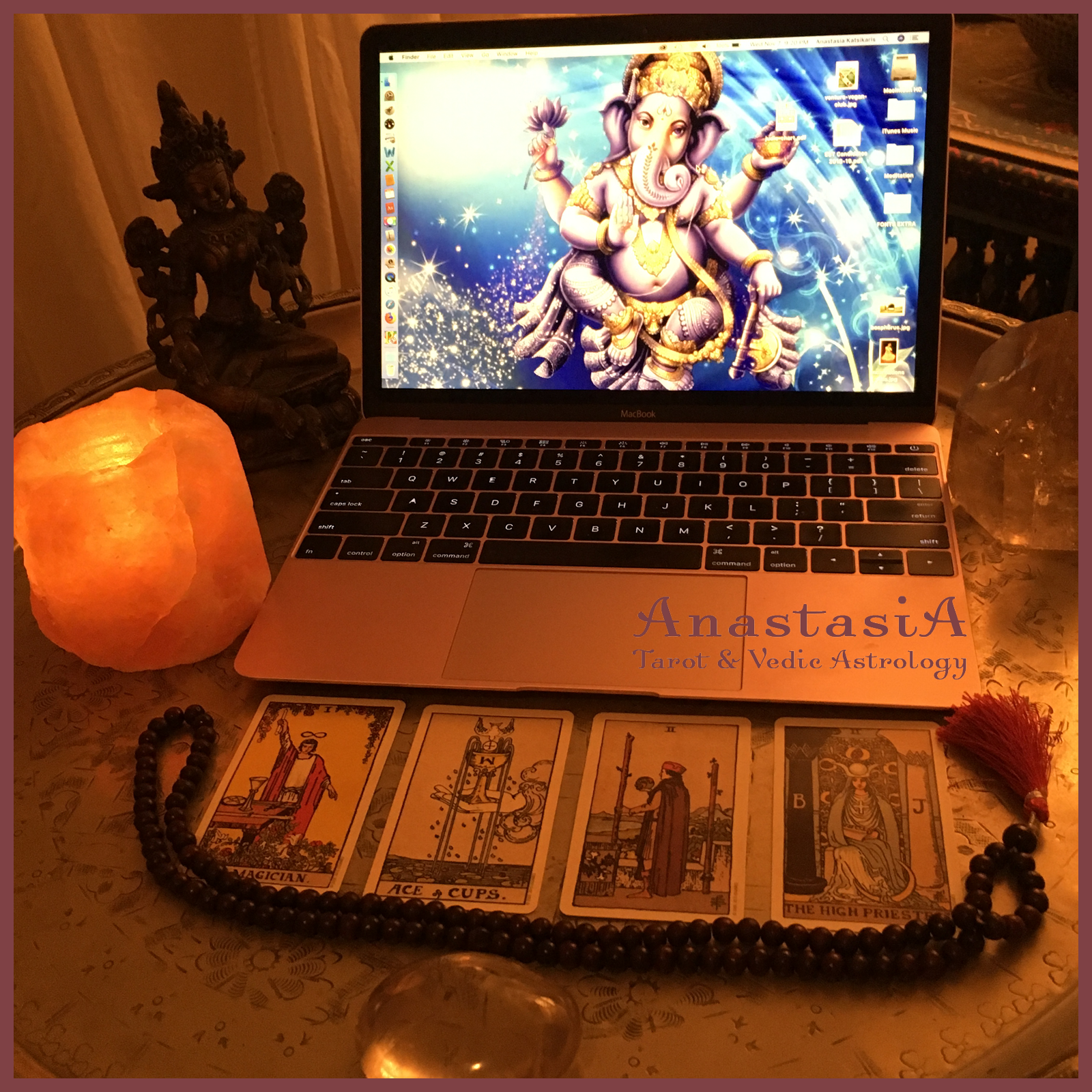 e-mail or skype tarot reading