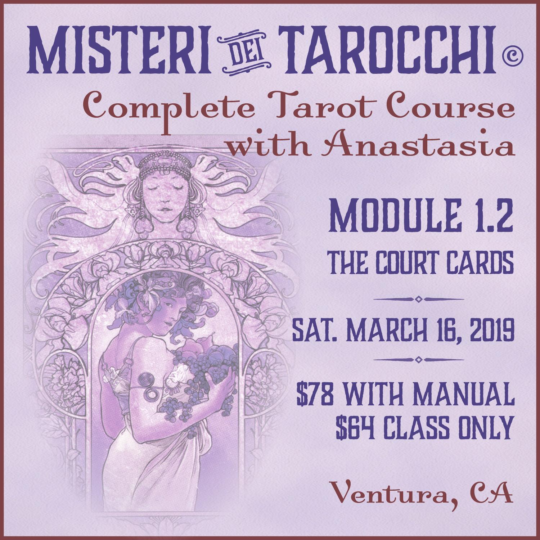 Tarot class in Ventura