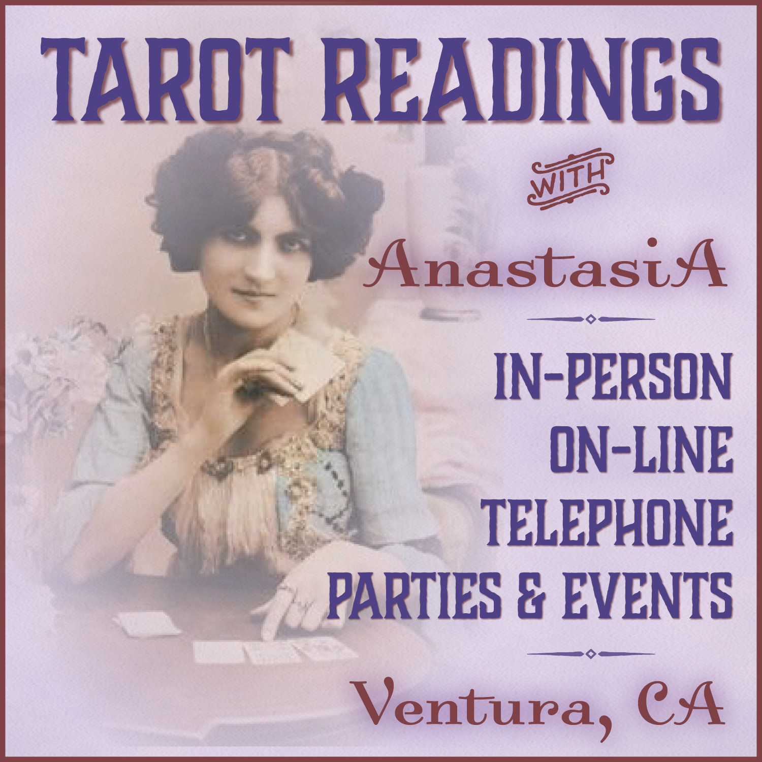 Tarot & Lenormand readings - in-person, telephone, and on-line