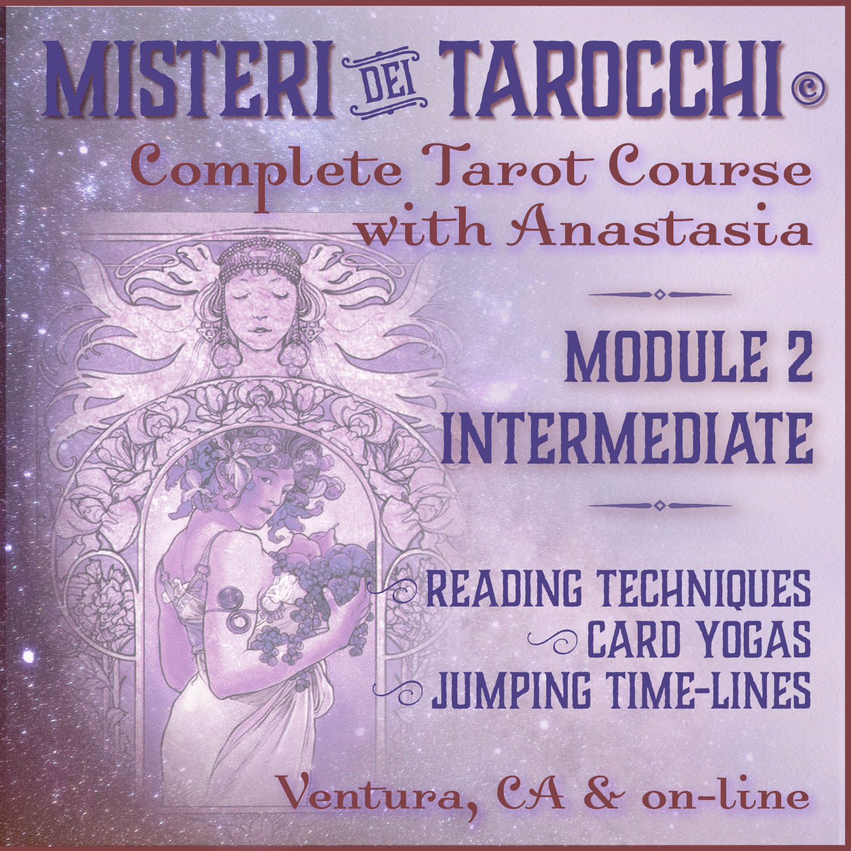 Misteri dei Tarocchi complete tarot course - reading - Ventura & on-line tarot classes