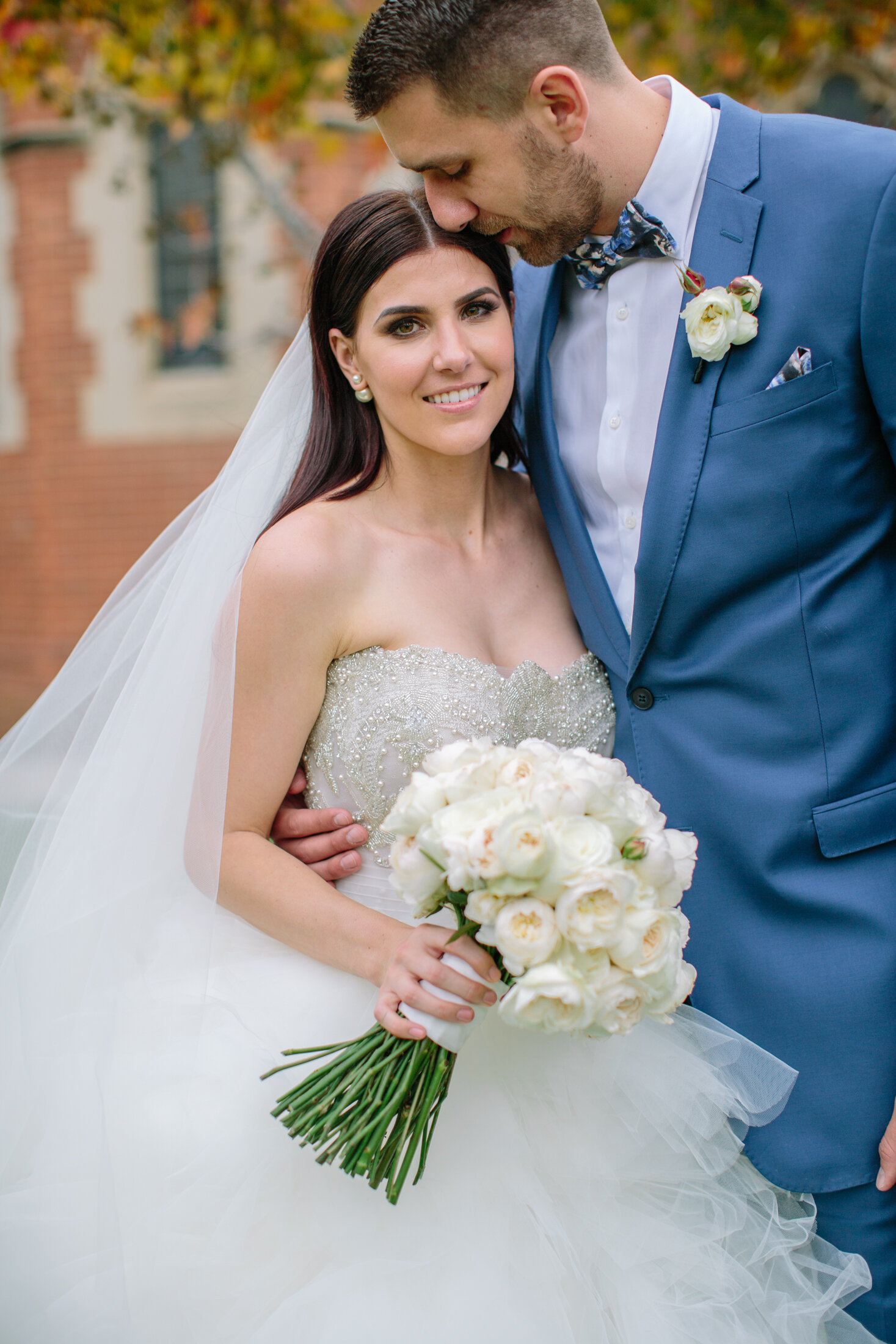 """JAZZE & TOM - """"Thank you for helping us create this magical day. We couldn't have asked for a better person to share our journey with."""