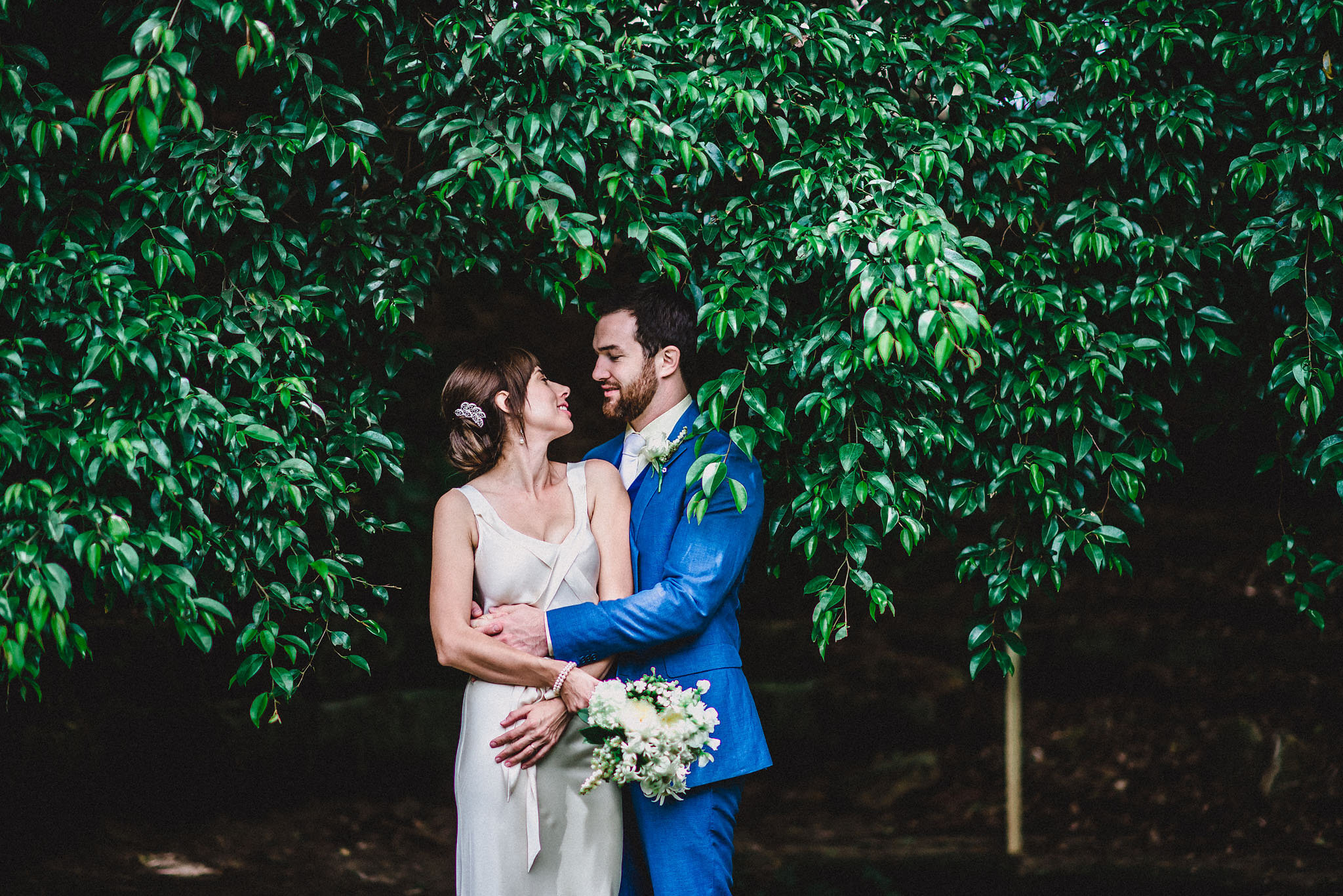 """AMY & GEORGE - Lara's evident wealth of experience and attention to detail allowed us to just relax and share a beautiful day with family and friends."""""""