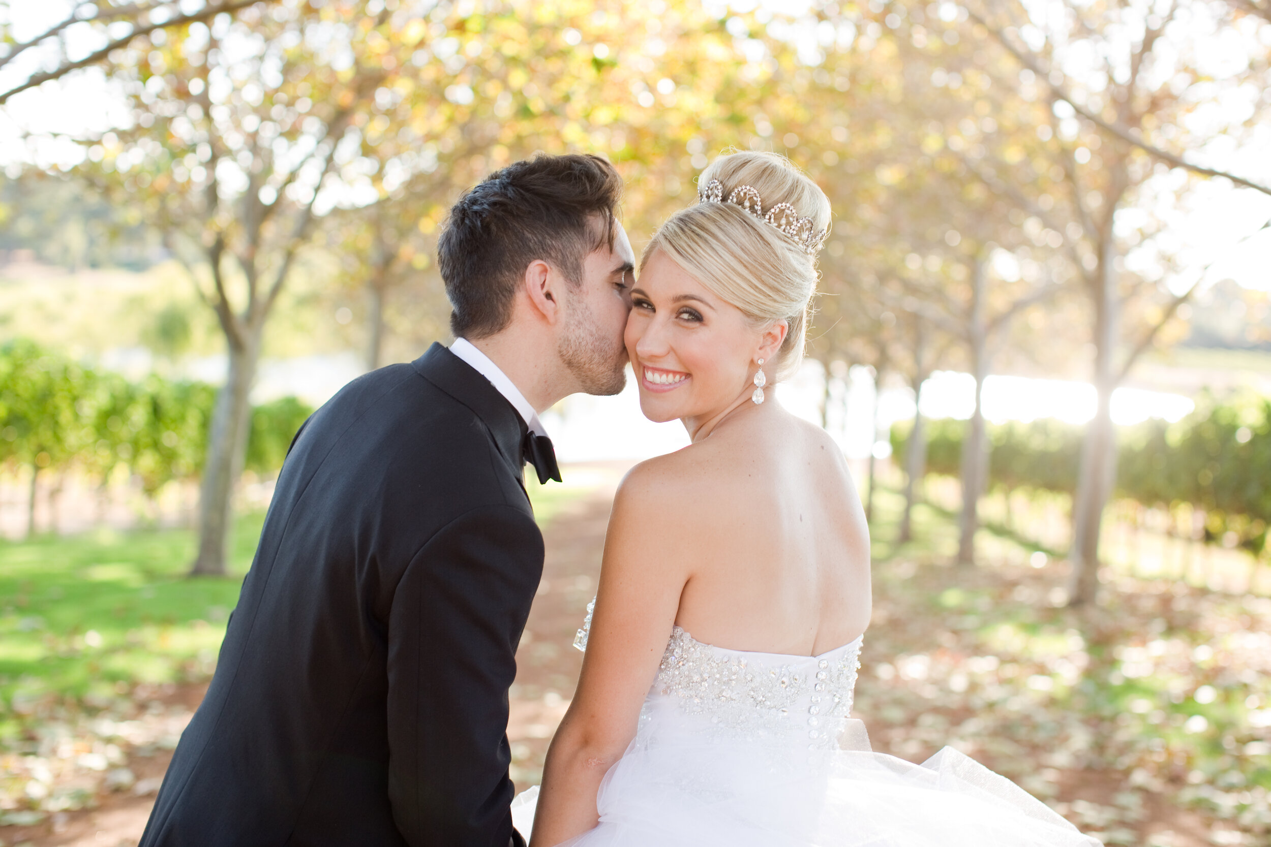 """WENDY, MOTHER OF THE BRIDE (BEIGE & HARLEY) - """"You truly made everything more than we could have ever dreamed. Thank you so much. We loved every minute of it!!"""""""