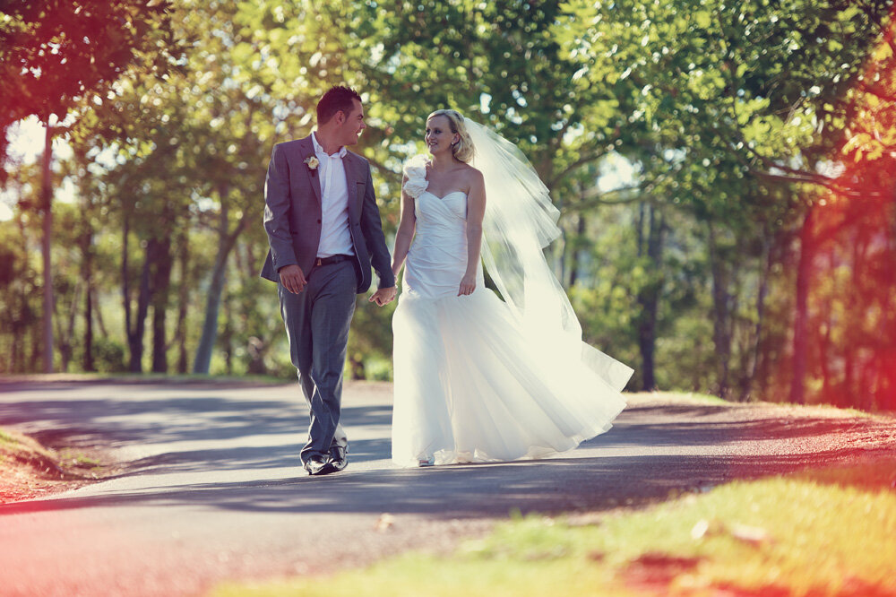 """BETH & CRAIG - """"With the help of your team of amazing suppliers and your attention to detail, you created a day that was stunningly perfect!"""""""