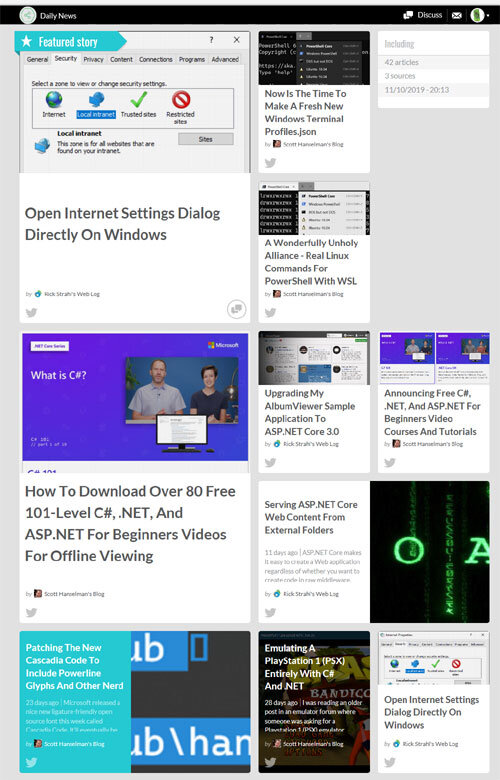 Daily News for Developers and IT Professionals in Our Community
