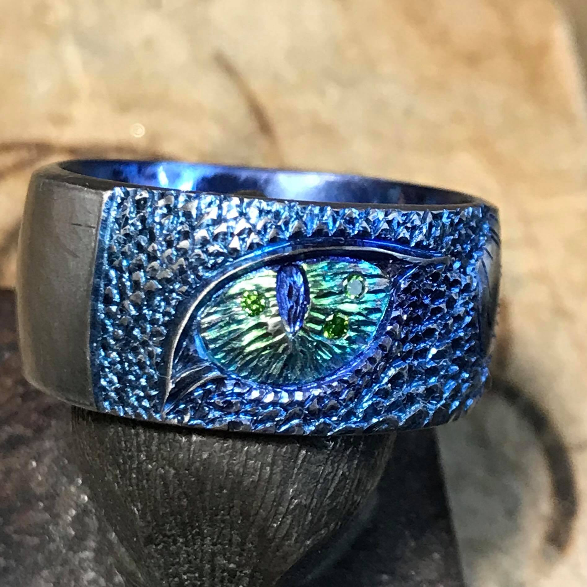 One of a Kind Titanium Designs - Unlike Any you have seen before
