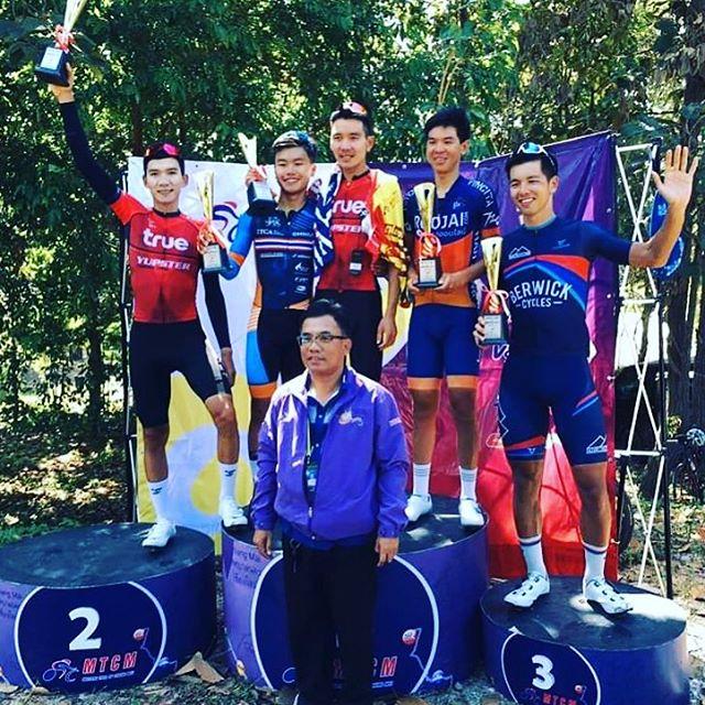 @boonkiak takes 4th at Chiang Mai. #masterstourofchiangmai #mtcm2019