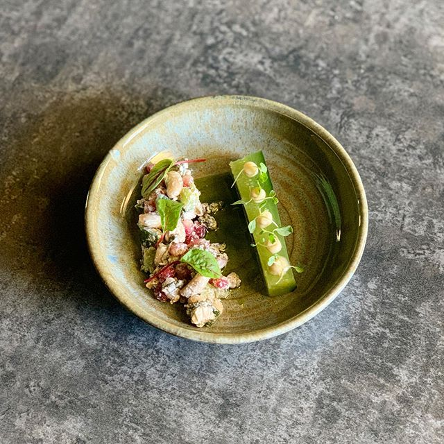 CANCELLATIONS We have arrived to the office this morning to receive a few table cancellations for dinner service tonight! Give us a call on 01449 736377 to snap them up! . . The photo above is of our rather popular starter - White Bean, Feta & Pomegranate salad with compressed cucumber. Summer in a bowl. . . #pub #rattlesden #gastropub #suffolk #local #summer #finedining #tastingmenu #food #foodie #instafood #menu #cancellation #salad #whitebean #compressed #cucumber #feta #dining #luxury #pomegranate