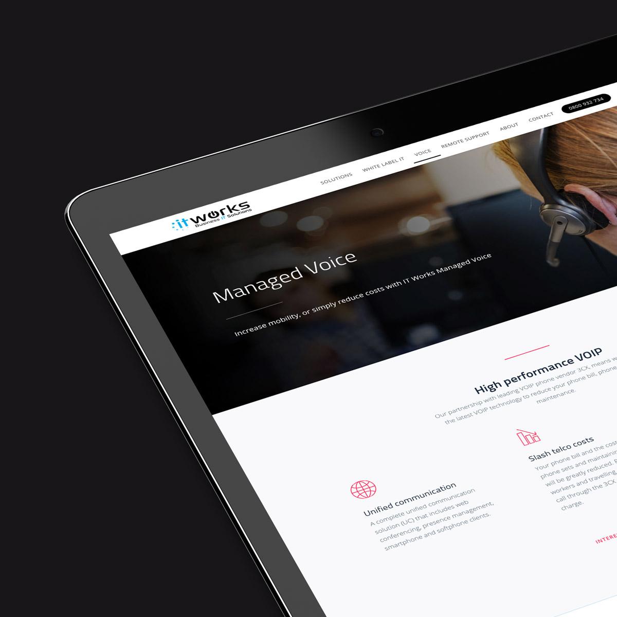 IT Works   Website design / Rev-it-up Package